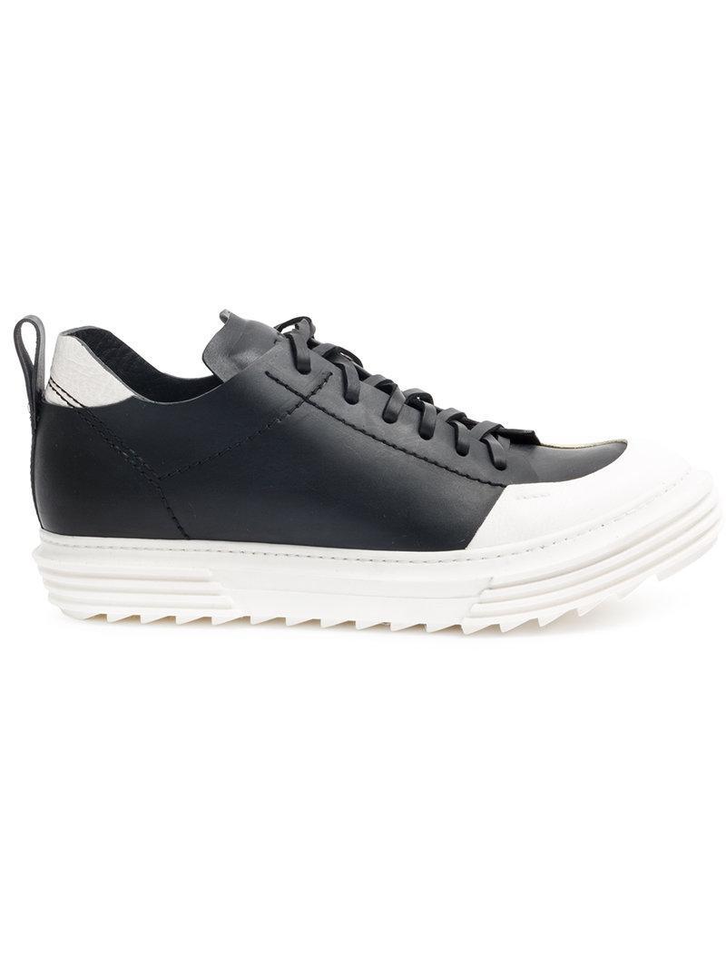 sole colourblock lace-up sneakers - Black ARTSELAB Arx1w6iJg
