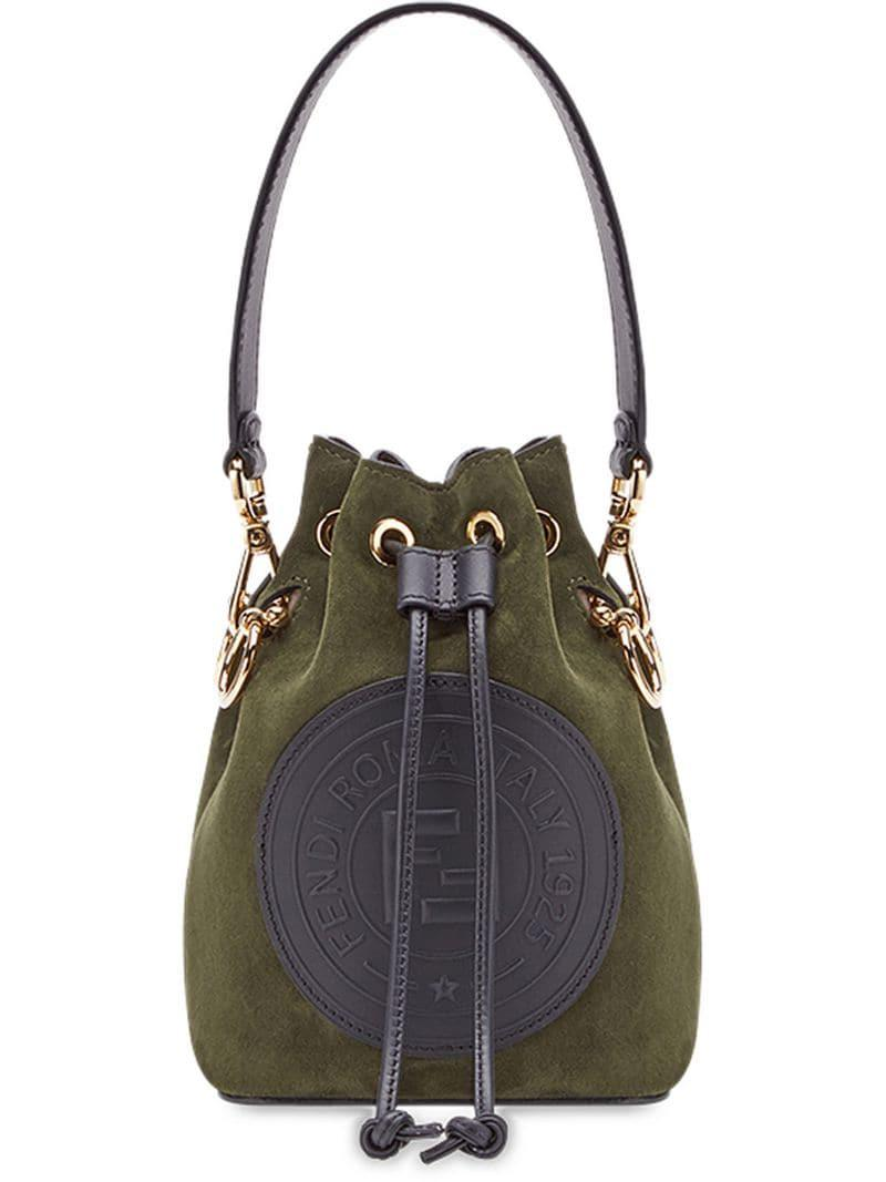 eb8774881931 Fendi Green Mon Tresor Mini Bag in Green - Lyst
