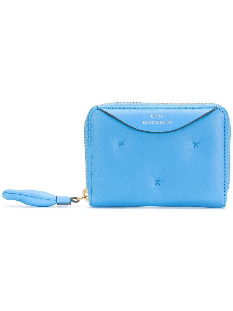 Chubby large wallet - Blue Anya Hindmarch 0tB6Cw3M6