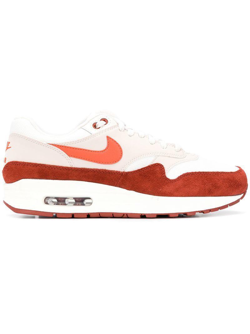 cf5fcf22d989 Lyst - Nike Side Logo Sneakers in Red for Men