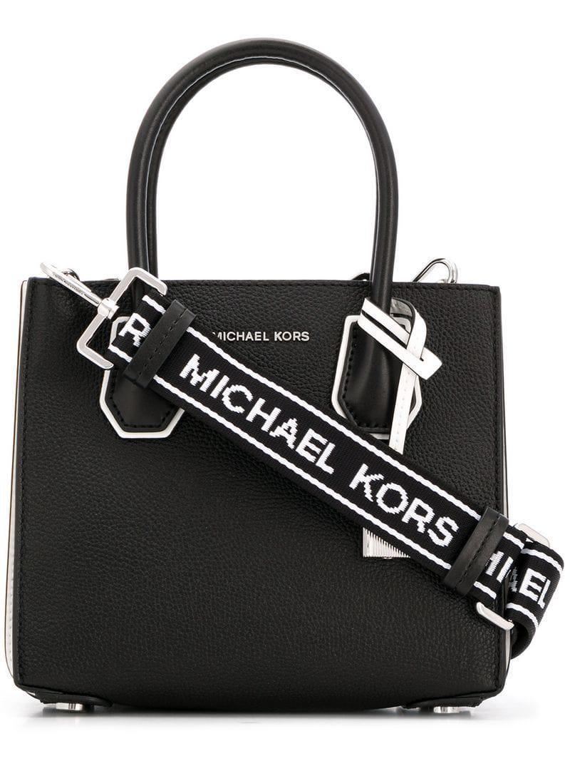 f0024faa446f Lyst - Michael Michael Kors Mercer Tote Bag in Black