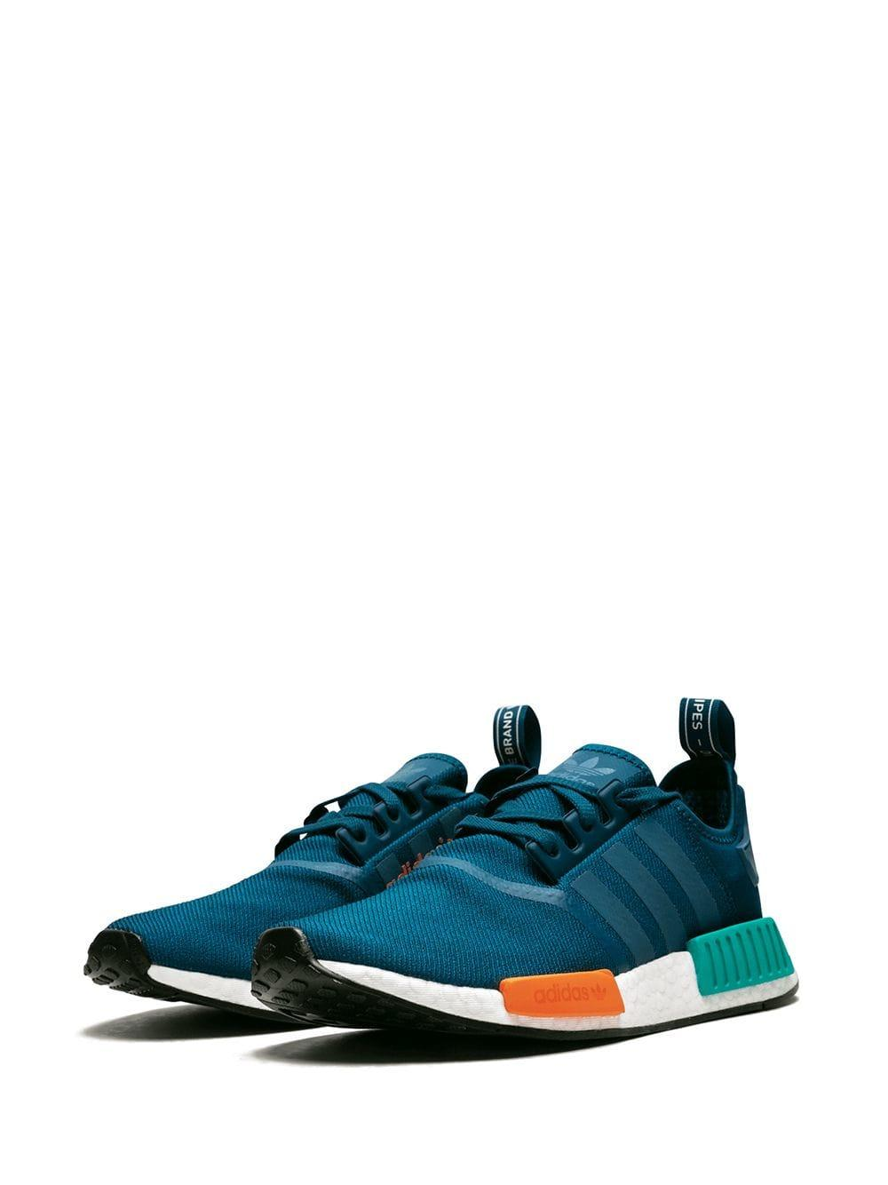 Adidas - Blue Nmd R1 Sneakers for Men - Lyst. View fullscreen 4f10b43de