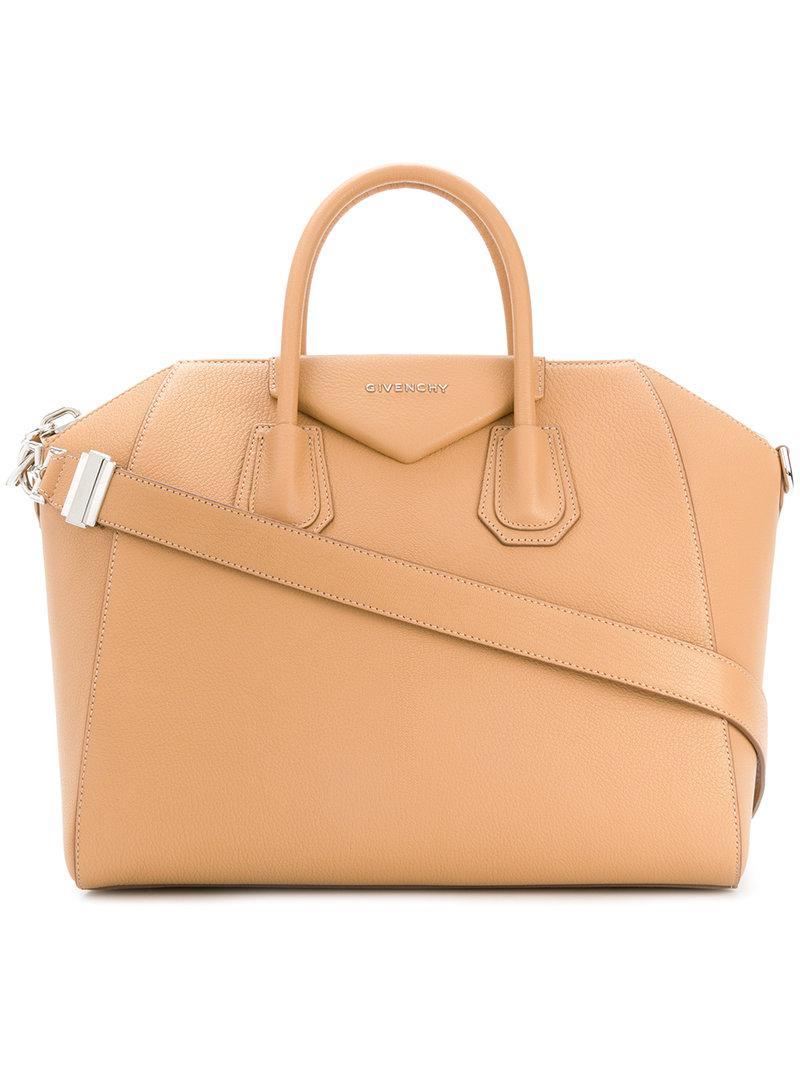 Givenchy - Brown Antigona Tote - Lyst. View fullscreen 80f8901be7