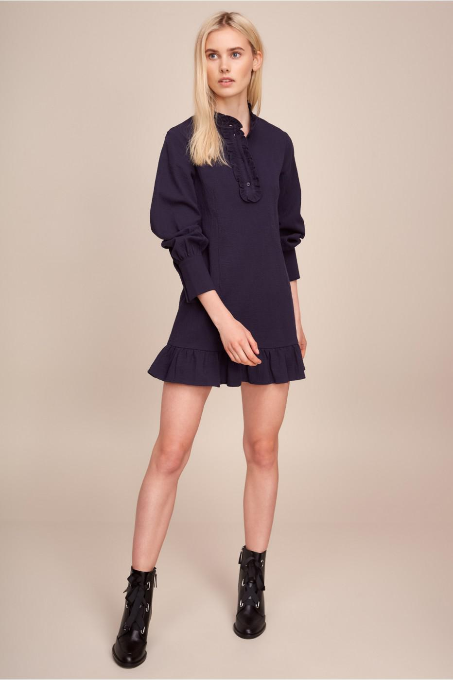 5e2124d61a86 Lyst - The Fifth Label Radiate Shirt Dress in Blue