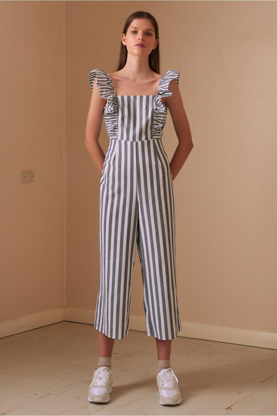 50a1e76b9dc7 The Fifth Label. Women s Flora Stripe Jumpsuit
