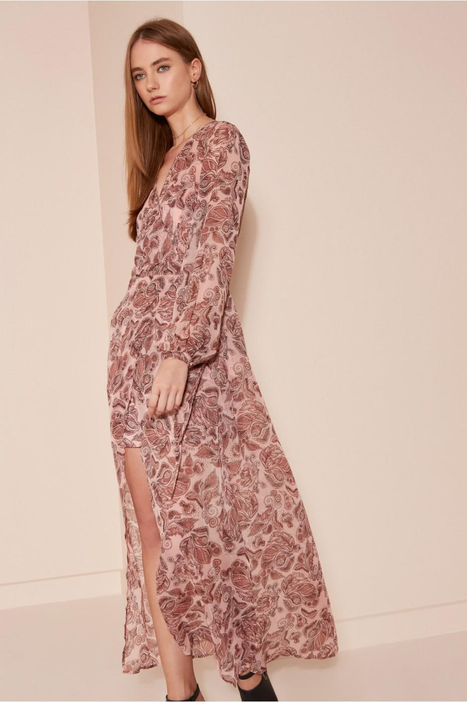 The fifth label Siren Calls Wrap Dress in Pink