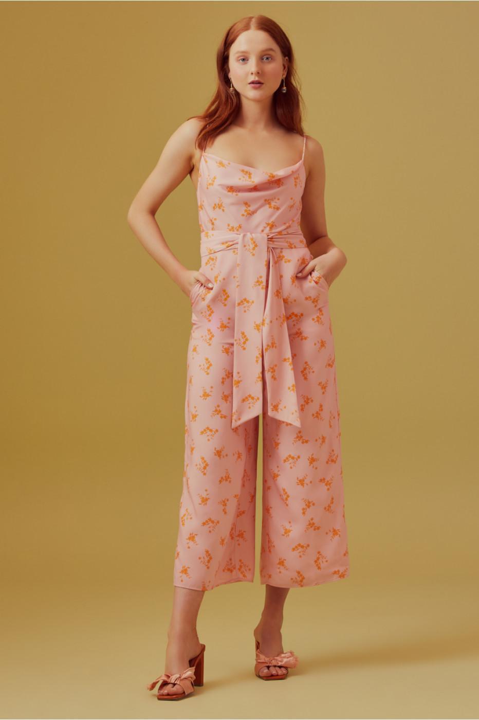 e90f27703f98 Keepsake - Multicolor Allure Cropped Jumpsuit - Lyst. View fullscreen