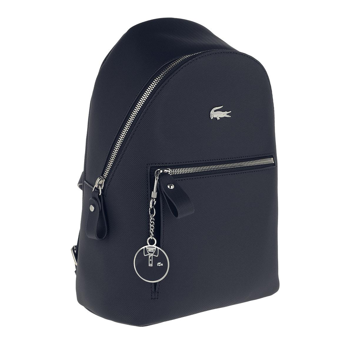6a78a58a34 Lacoste - Blue Backpack Peacoat - Lyst. View fullscreen