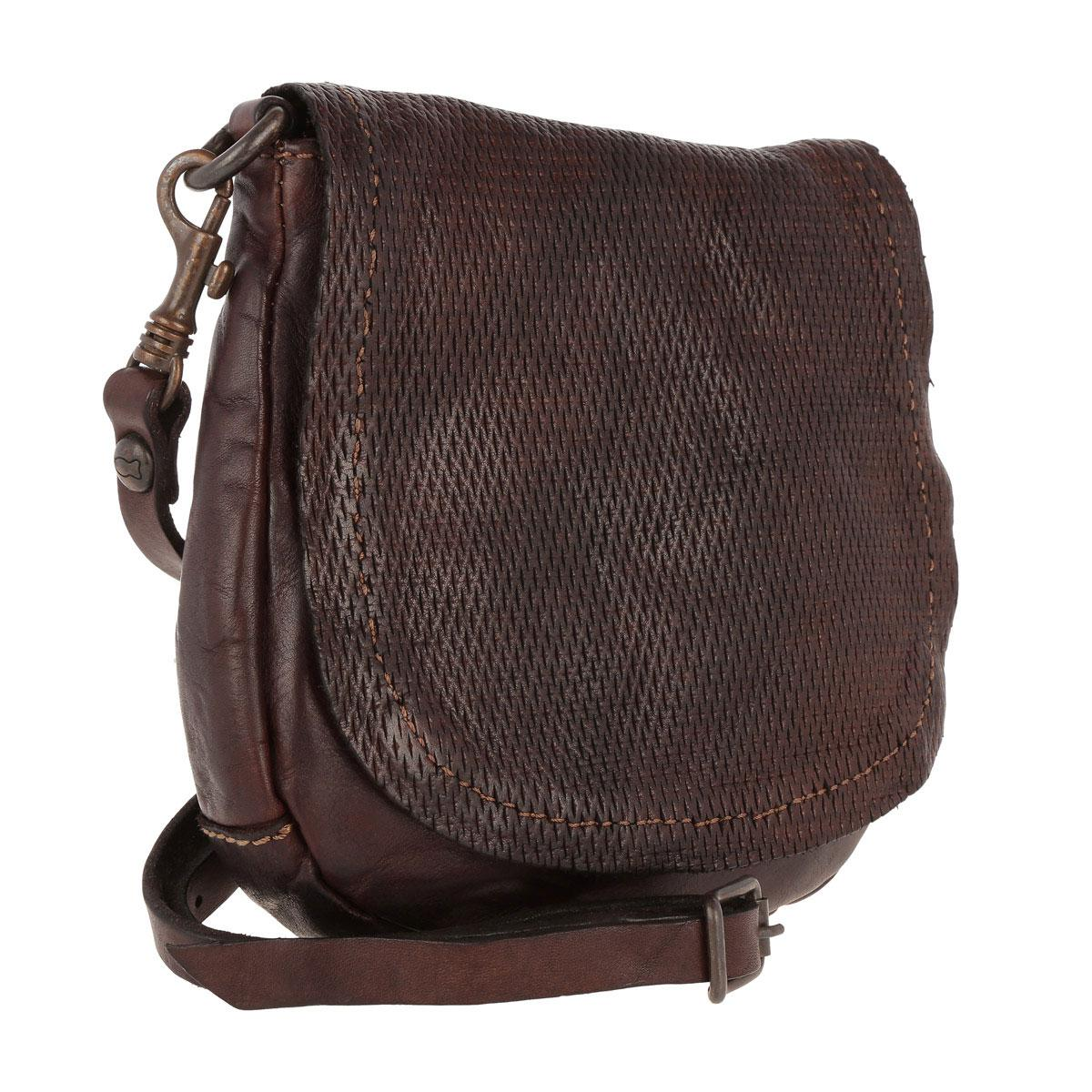 Campomaggi Tracollina Crossbody Bag Moro in Brown - Lyst be176bbc31c8c