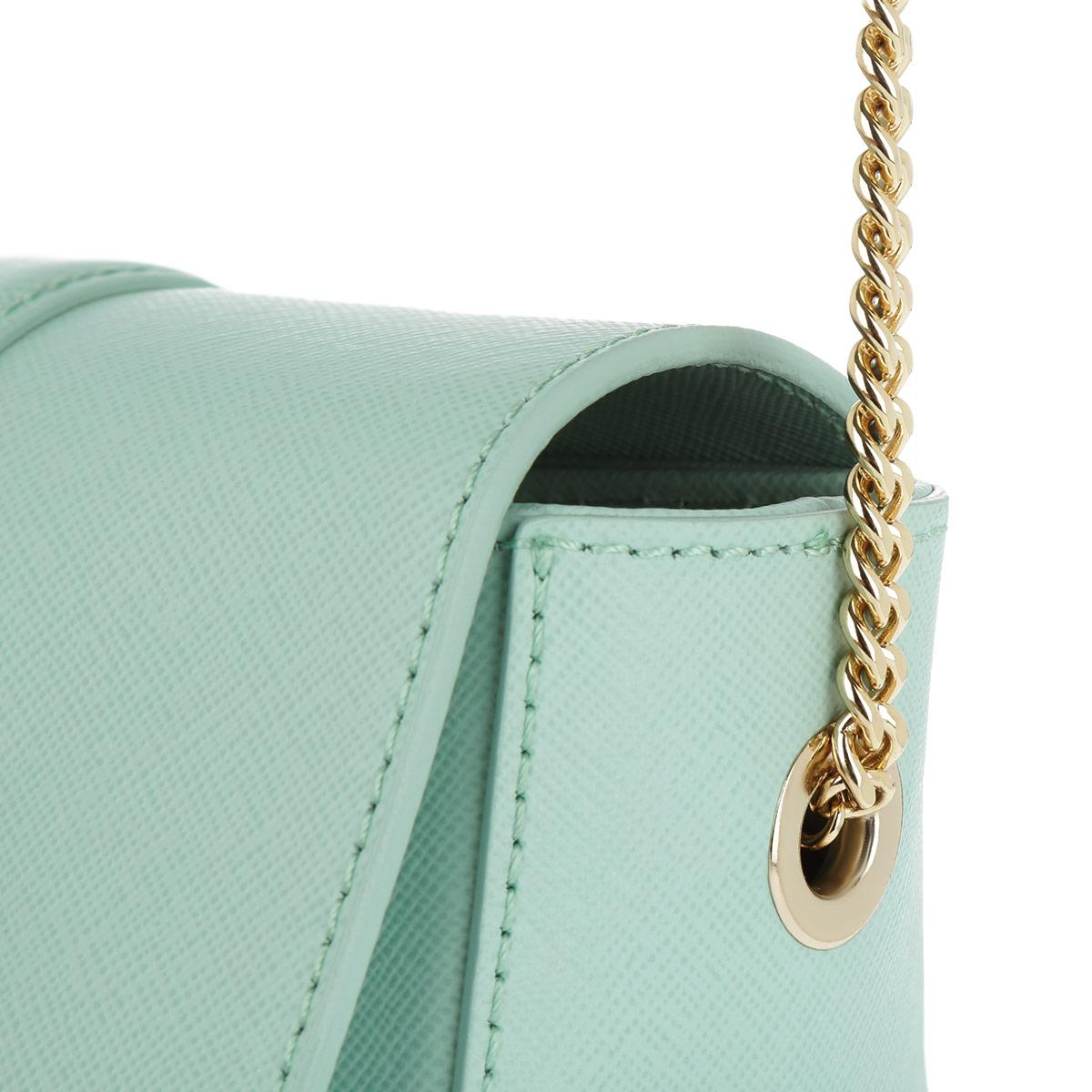 2dbe31bab5c Patrizia Pepe Crossbody Bag Pure Water in Green - Lyst