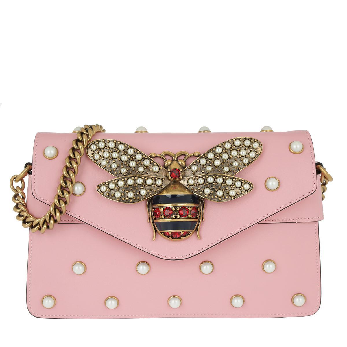 Broadway leather mini bag - Pink & Purple Gucci cLb3E2FL4