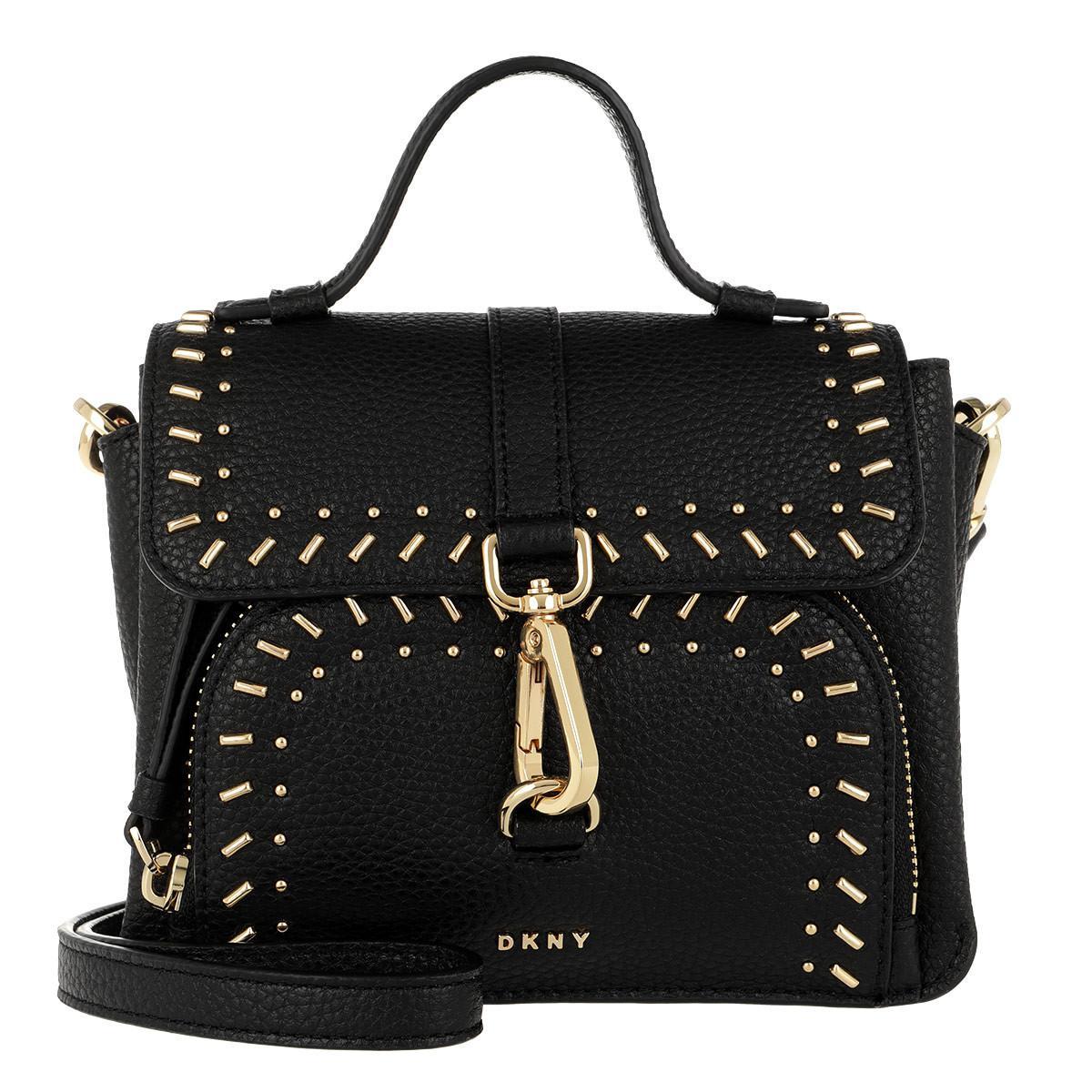 Cross Body Bags - Paris SM Stud Crossbody Bag Black/Gold - black - Cross Body Bags for ladies DKNY m1ZPaeN