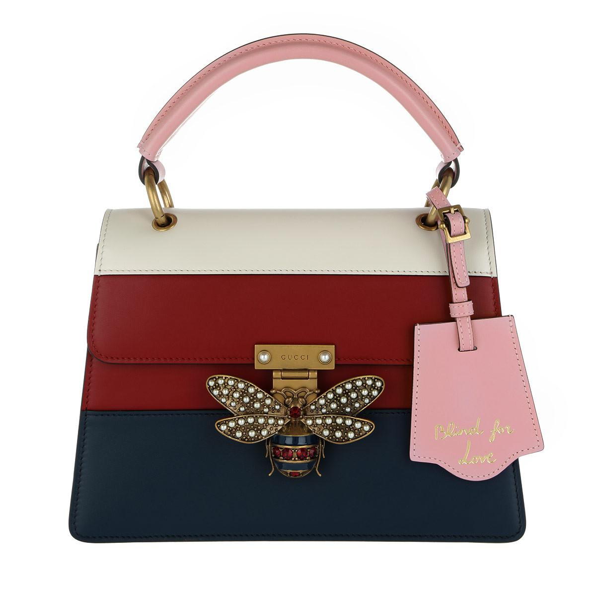 5199f22b1407 Gucci Queen Margaret Small Top Handle Bag Multicolor - Lyst