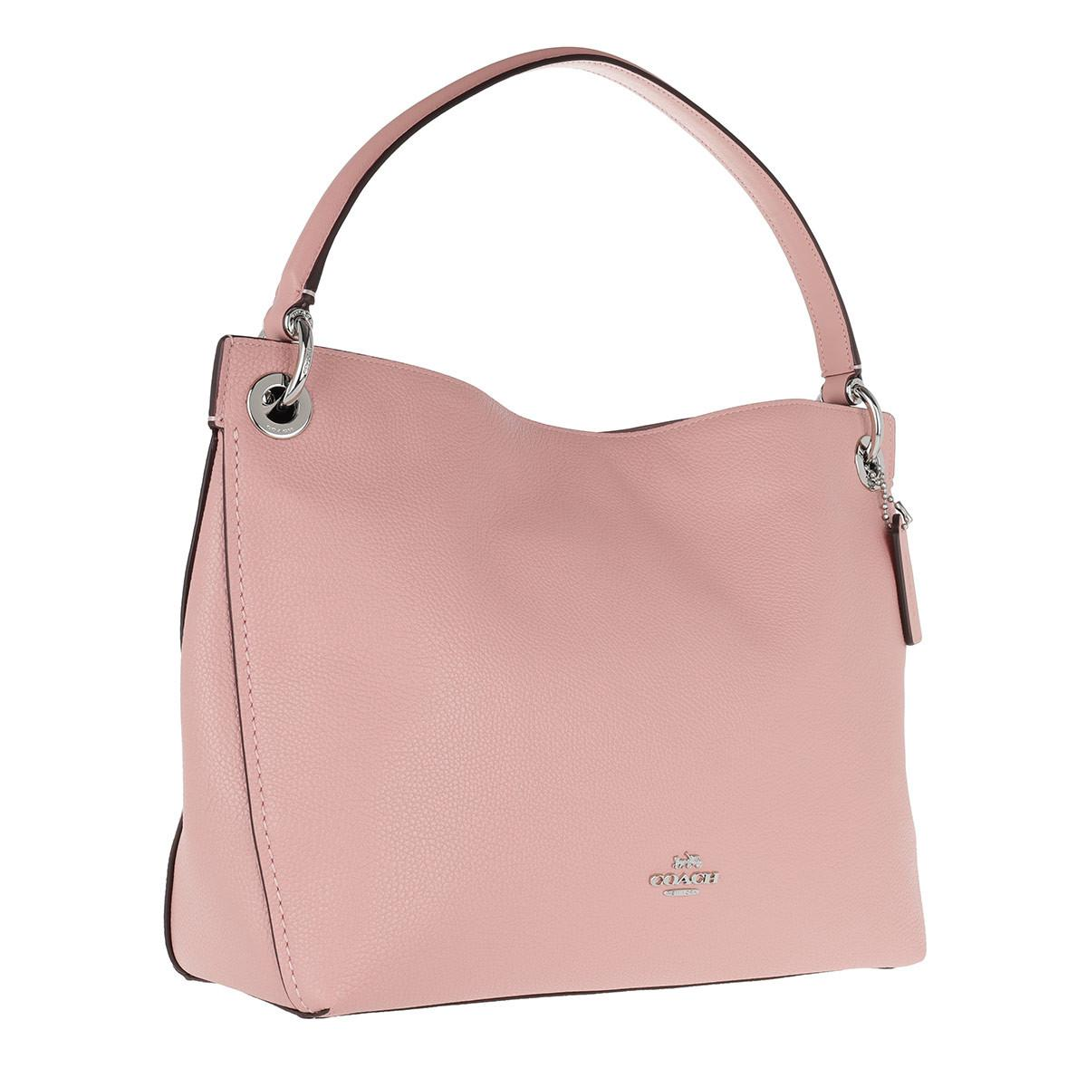 Hobo Bags - Polished Leather Clarkson Hobo Bag Saddle - cognac - Hobo Bags for ladies Coach trJxcD