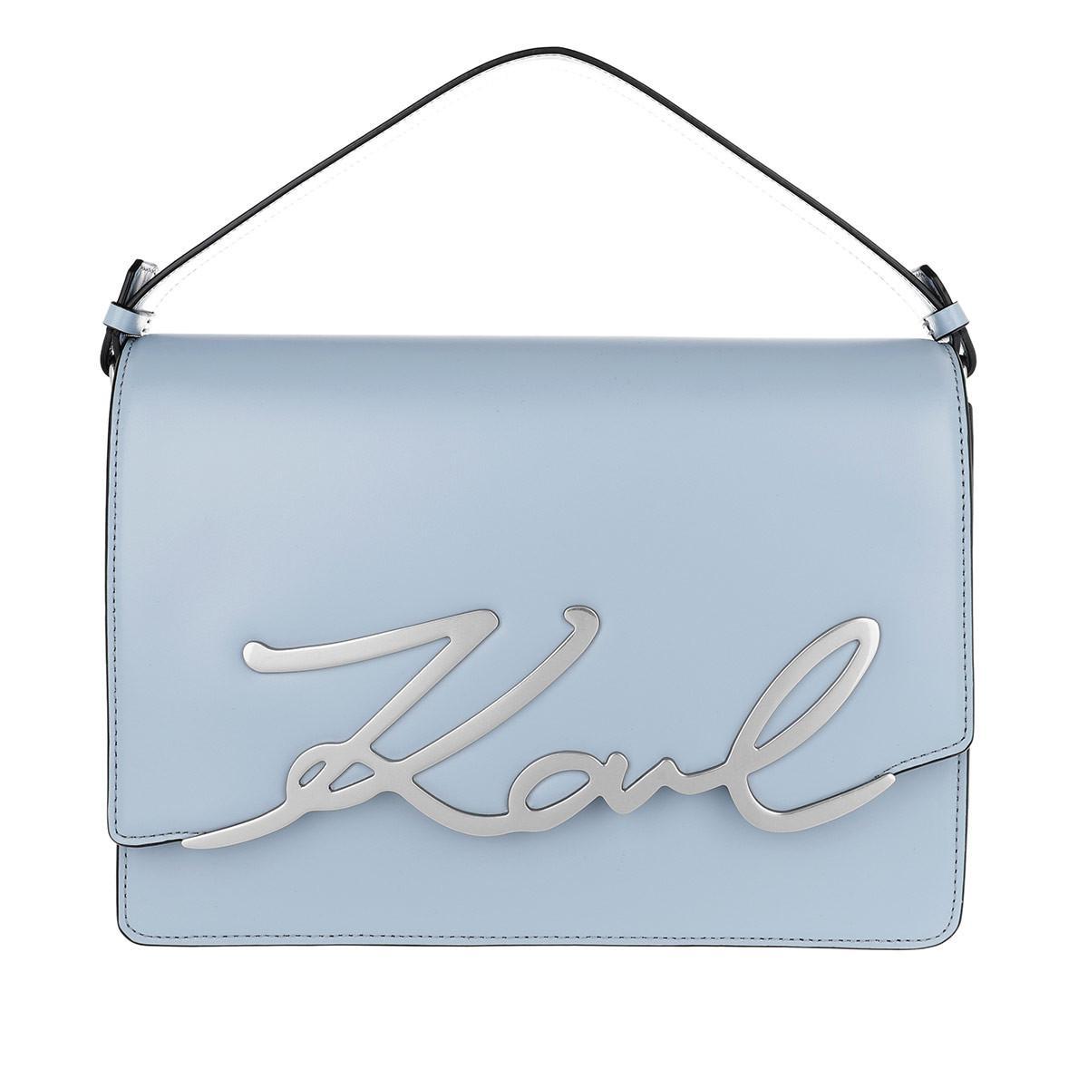 Karl Lagerfeld Satchel Bags - K/Signature Big Shoulderbag Mistic - - Satchel Bags for ladies Clearance Marketable uKmb2s16b