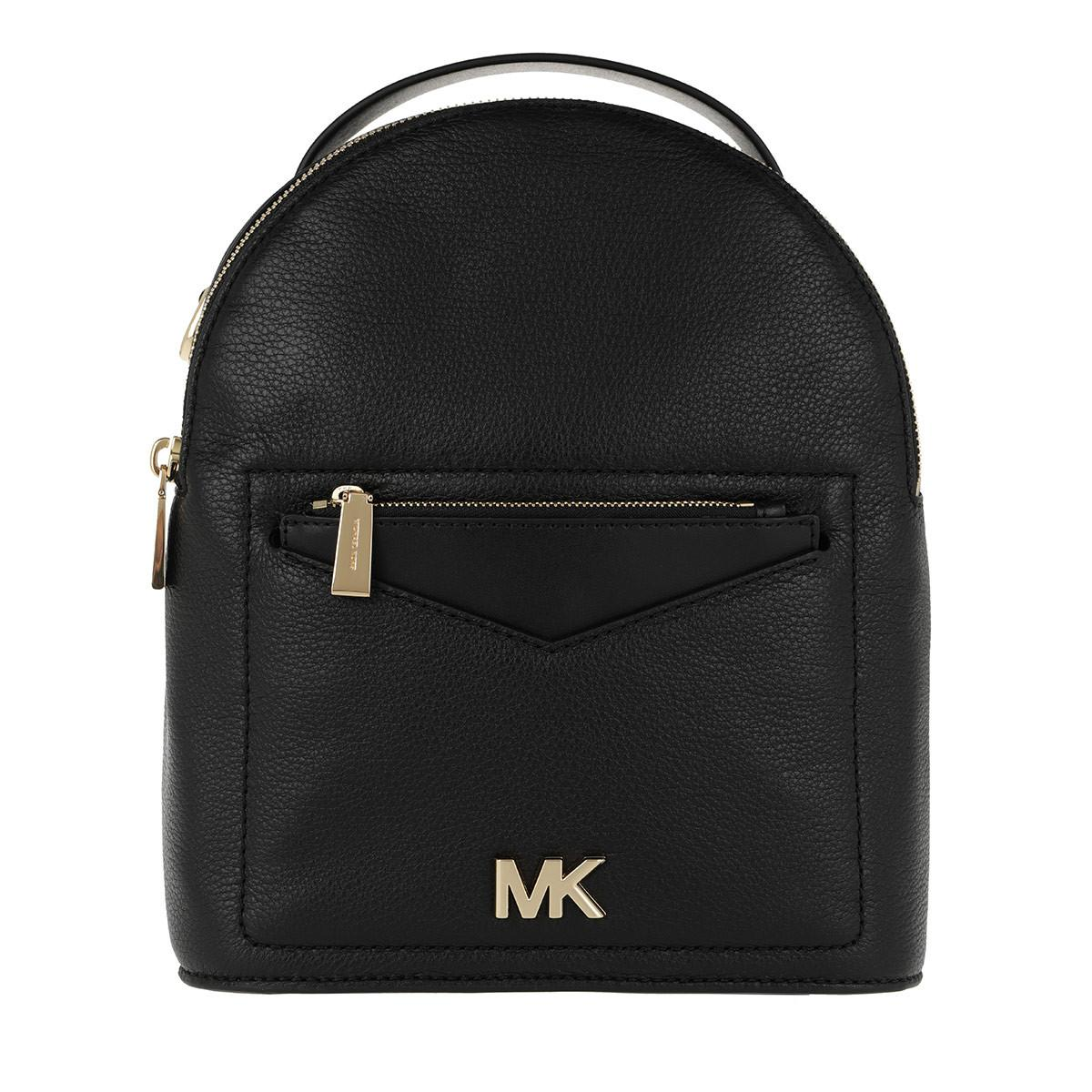 998e4d2b0b77 Michael Kors Jessa Sm Convertible Backpack Black in Black - Lyst