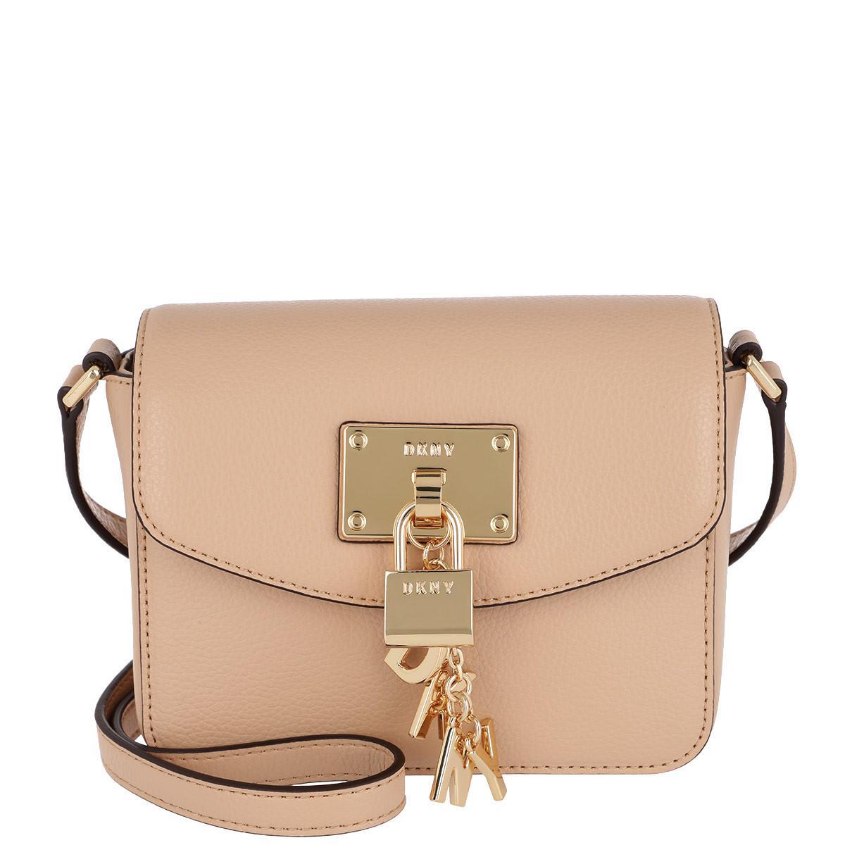 Cross Body Bags - Ann MD Flap Crossbody Bag Black/Gold - black - Cross Body Bags for ladies DKNY B5LkWWBpc