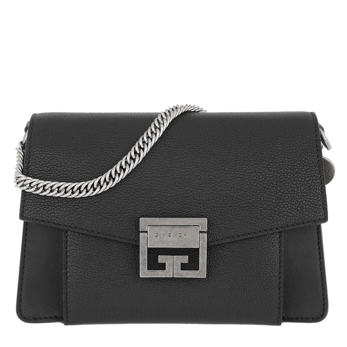 e2a51e2c9f6e Givenchy Gv3 Nano Crossbody Bag Leather Black in Black - Lyst