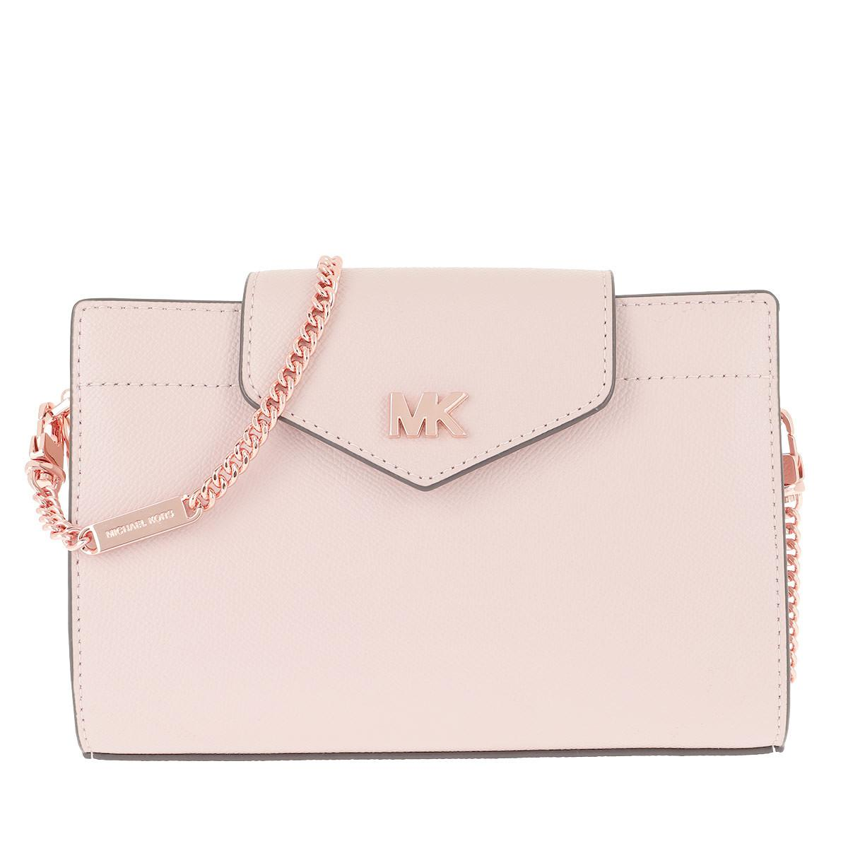 856290adcf53fd Michael Kors - Md Convertible Xbody Clutch Soft Pink - Lyst. View fullscreen
