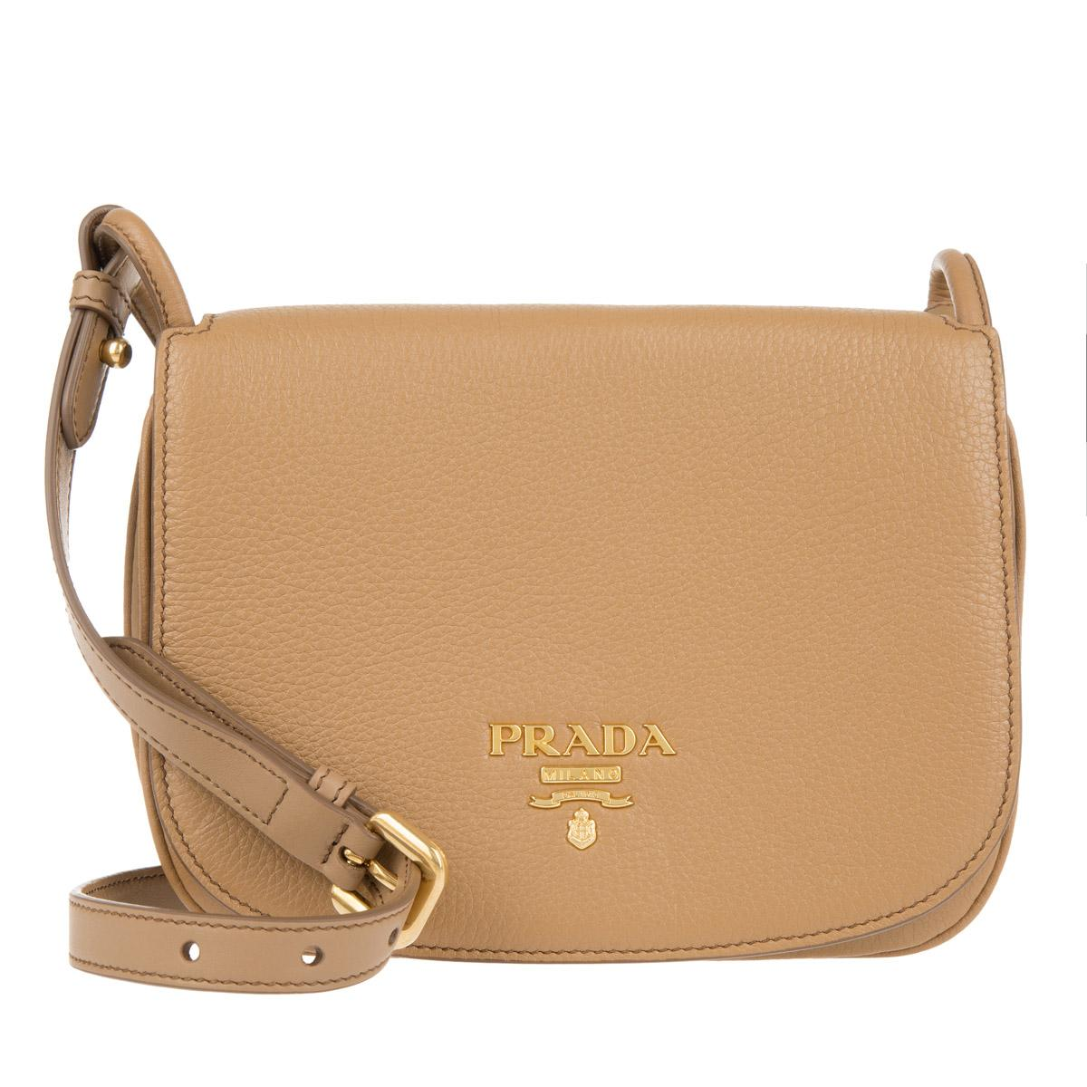 Cross Body Bags - Pionniere Bag Nylon Caramel - brown - Cross Body Bags for ladies Prada ahv4BIu
