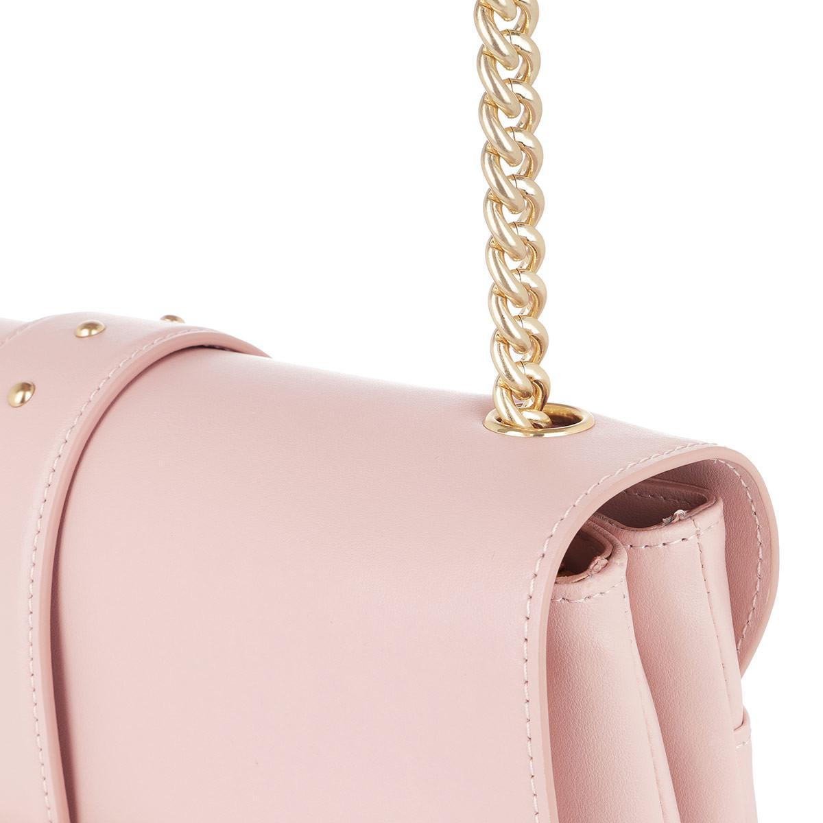 rosa crossbody quilted love chiaro borse pinko metallic AXq7HWqT