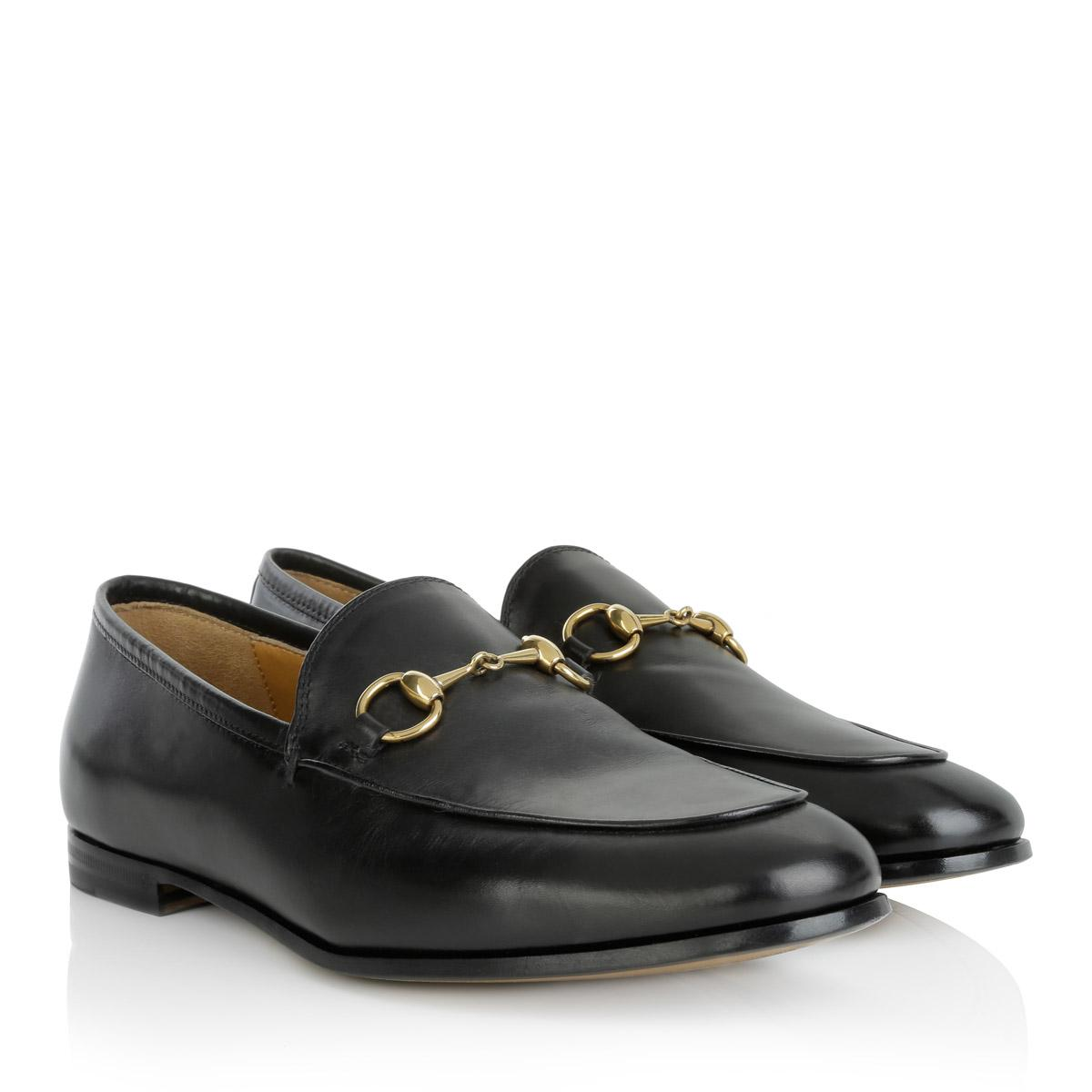 791e46459d4 Gucci Betis Glamour Loafer Nero in Black - Lyst