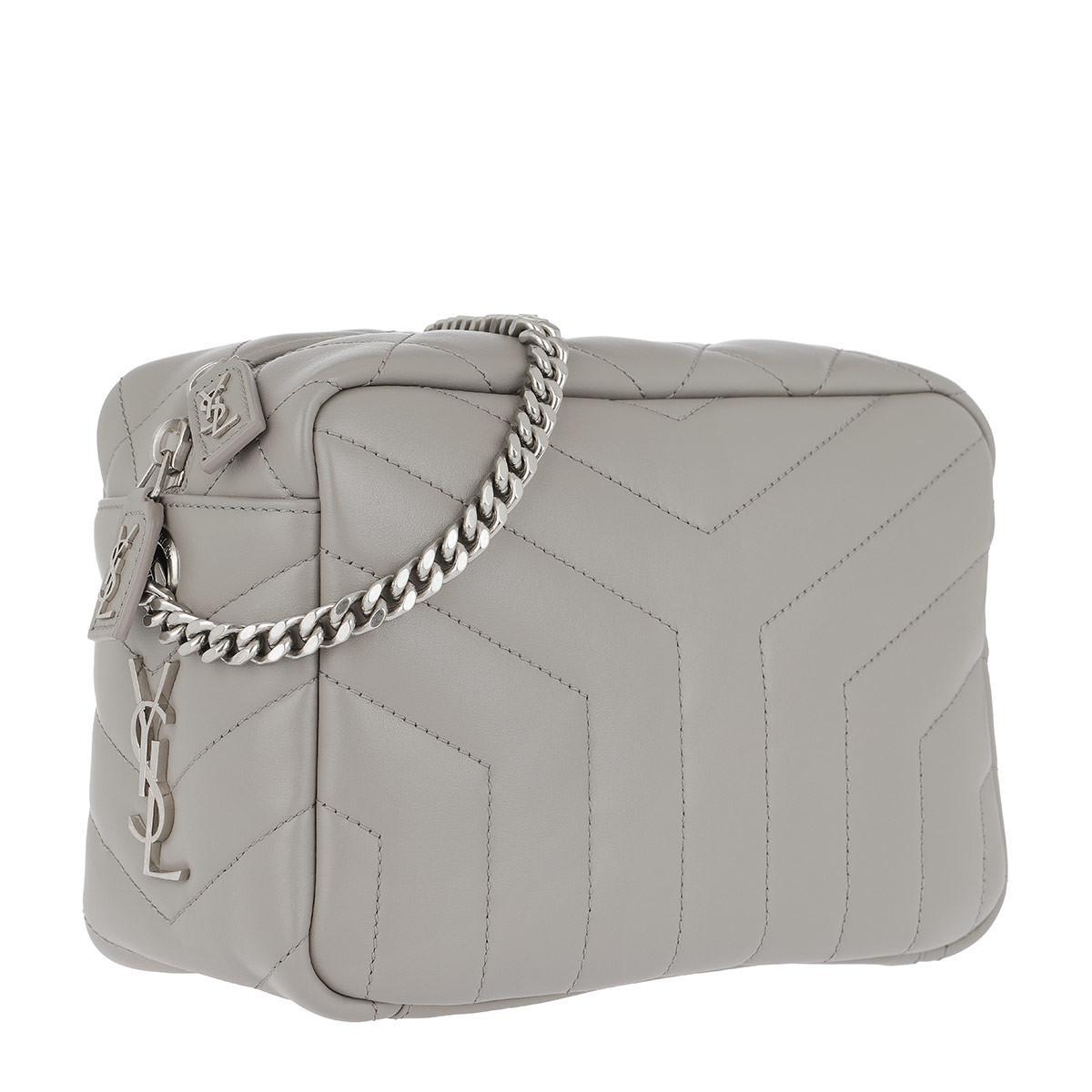 Ysl Camera Bag Black And Silver