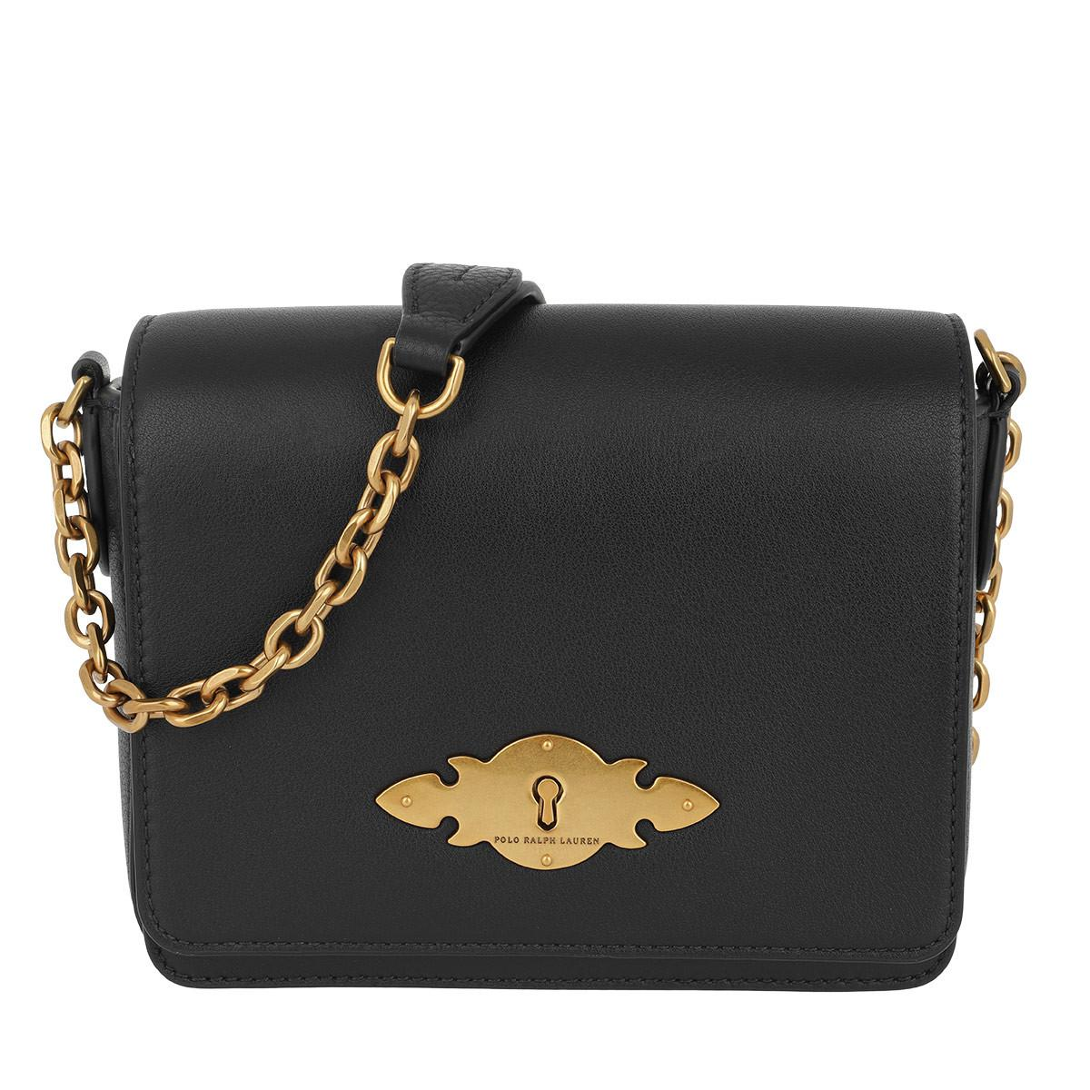 753b50aae91c Polo Ralph Lauren - Brooke Chain Crossbody Bag Small Black - Lyst. View  fullscreen