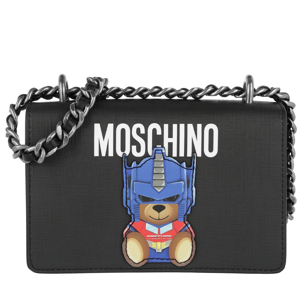81d8123de1b2 Moschino Transformers Ready To Bear Crossbody Bag Black in Black - Lyst
