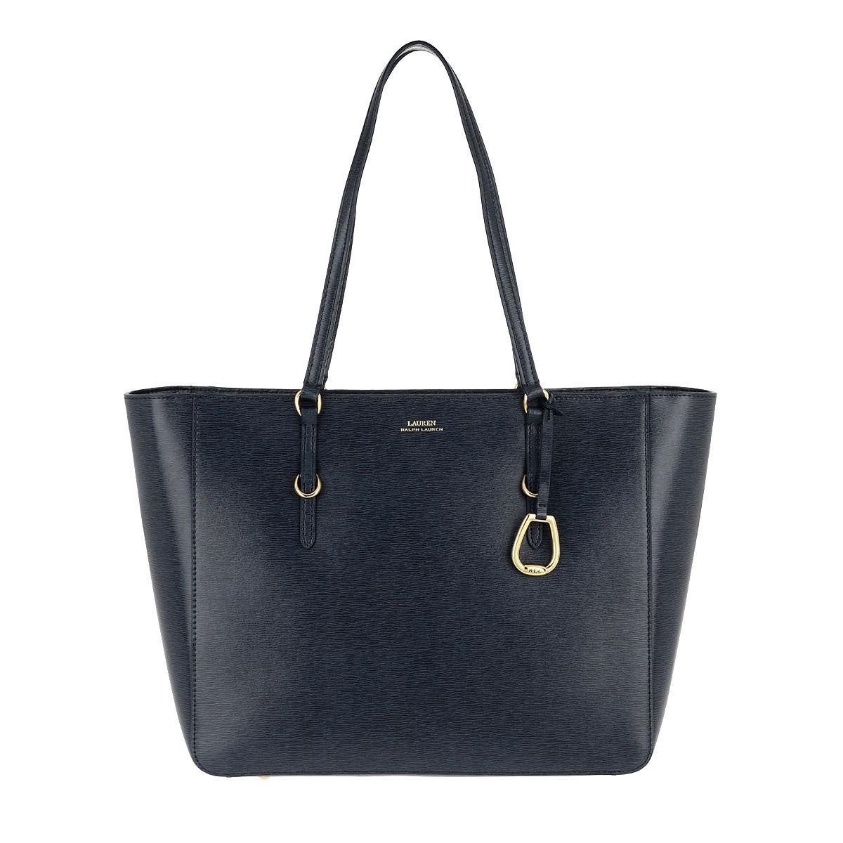 9d4c19fedbd Lauren by Ralph Lauren Shopping Bag Medium Navy in Blue - Lyst