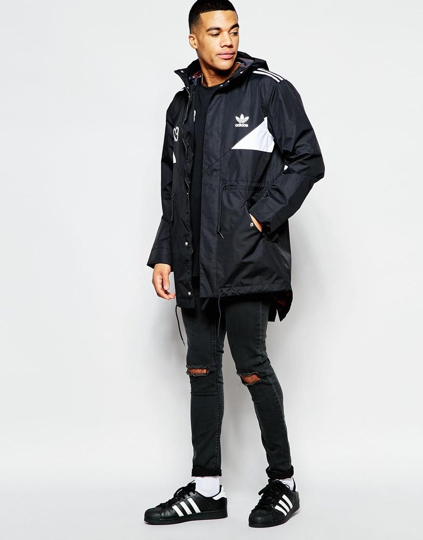 Adidas originals parka coat