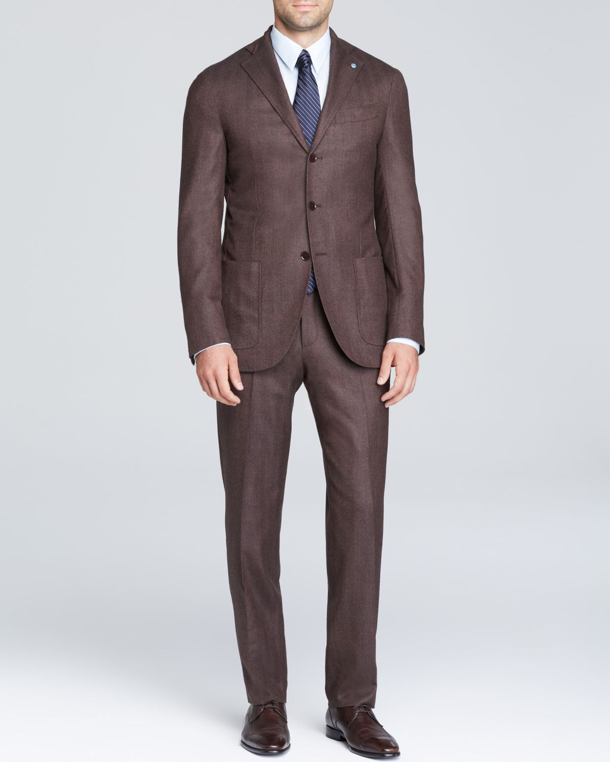 Eidos Herringbone Suit - Slim Fit - Bloomingdale'S Exclusive in ...