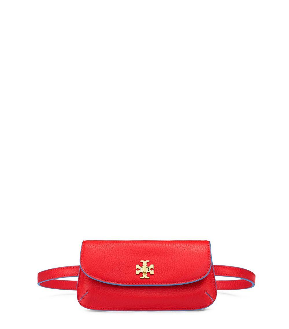 21e4f2f1acb5d Lyst - Tory Burch Diana Belt Bag in Red