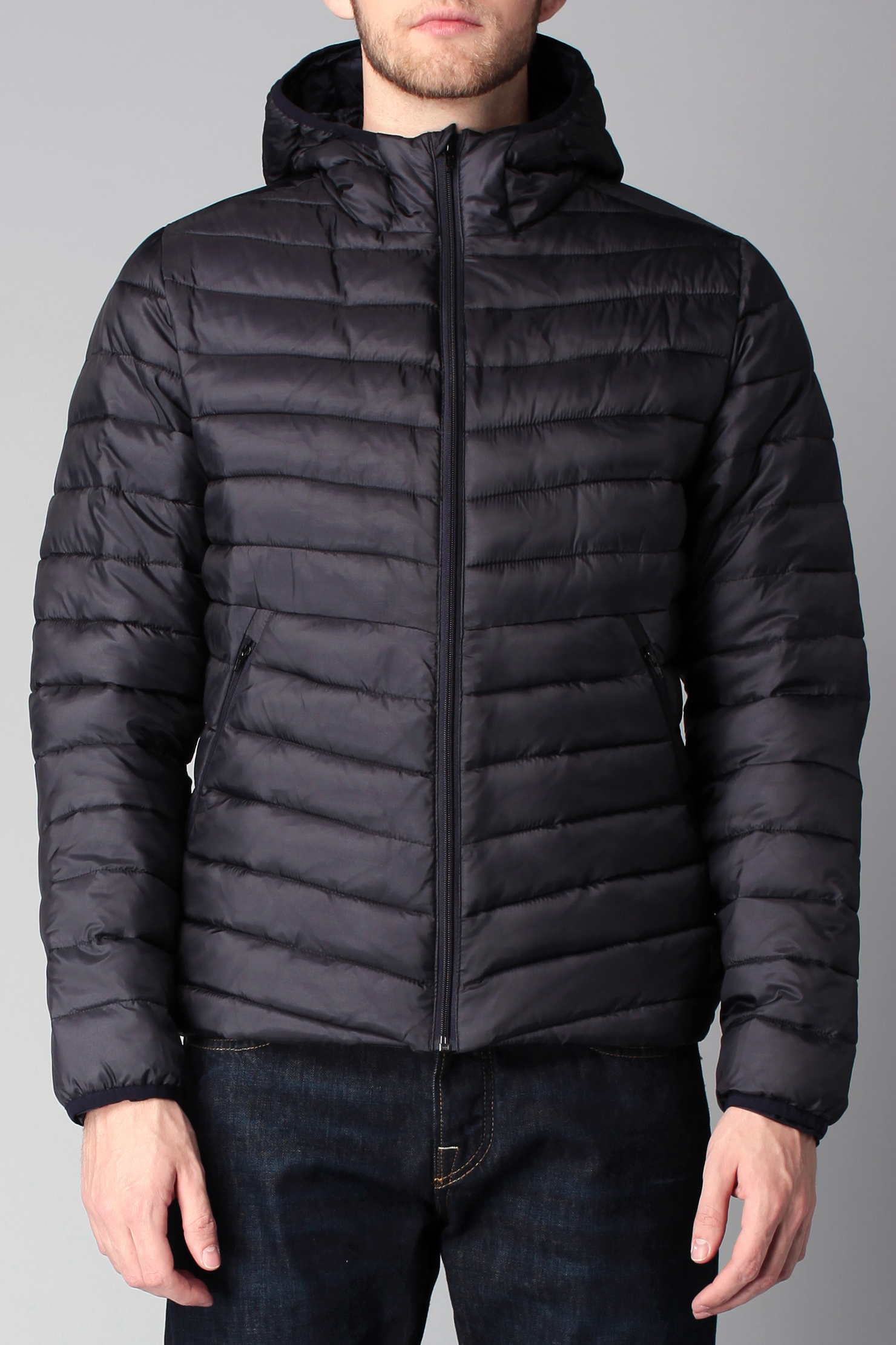 scotch soda quilted jacket in blue for men lyst. Black Bedroom Furniture Sets. Home Design Ideas