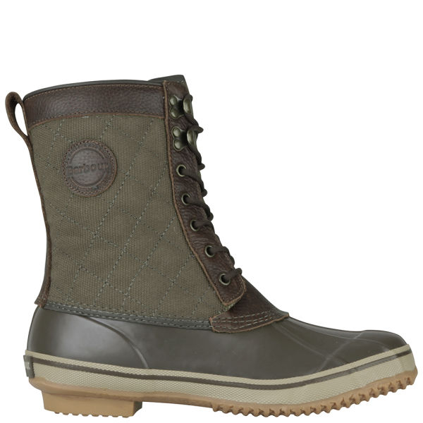 barbour mens duck boots in brown for lyst