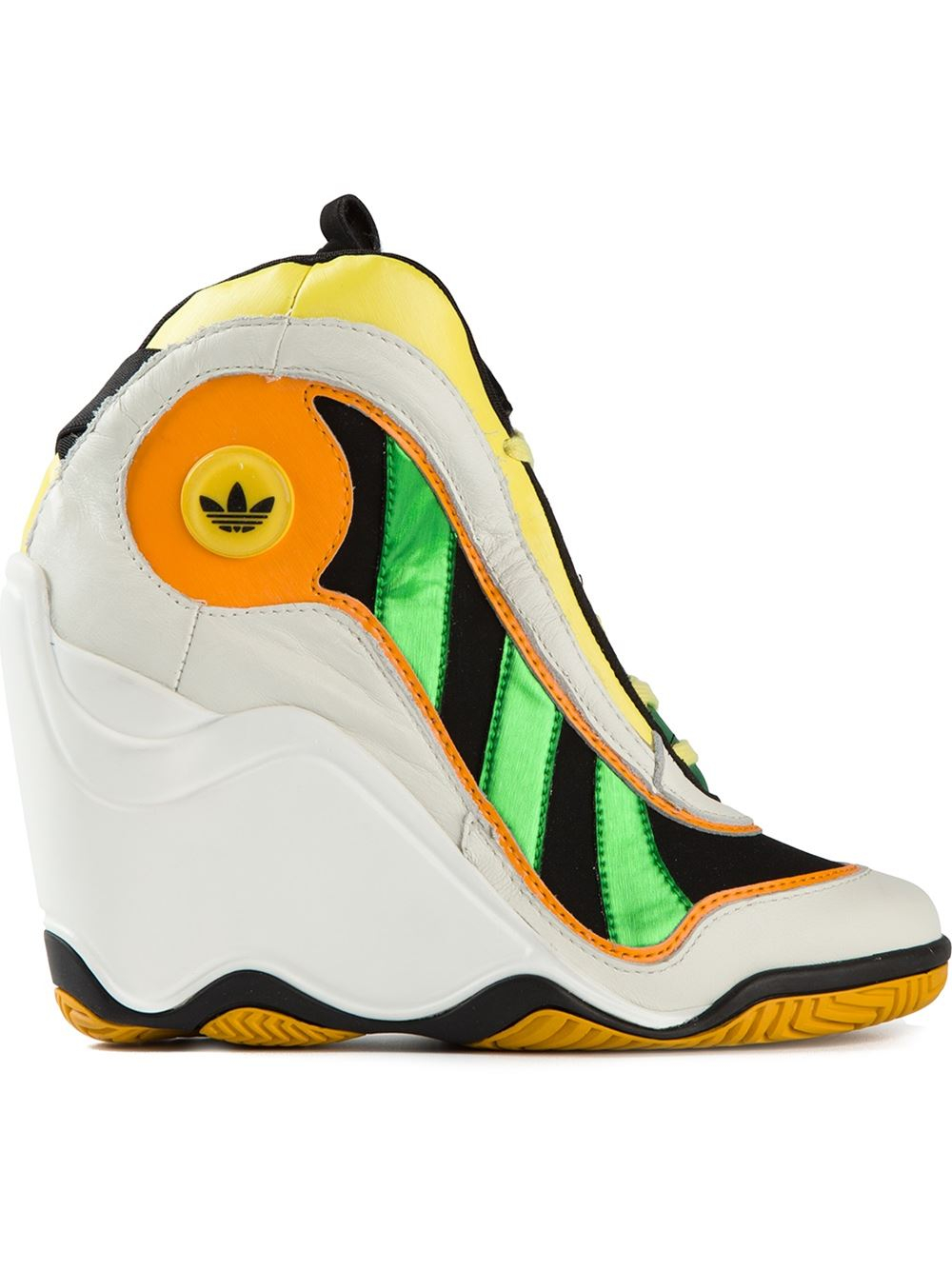 5d4f6292984 Lyst - Jeremy Scott for adidas JS Crazy 97 Sneakers in White