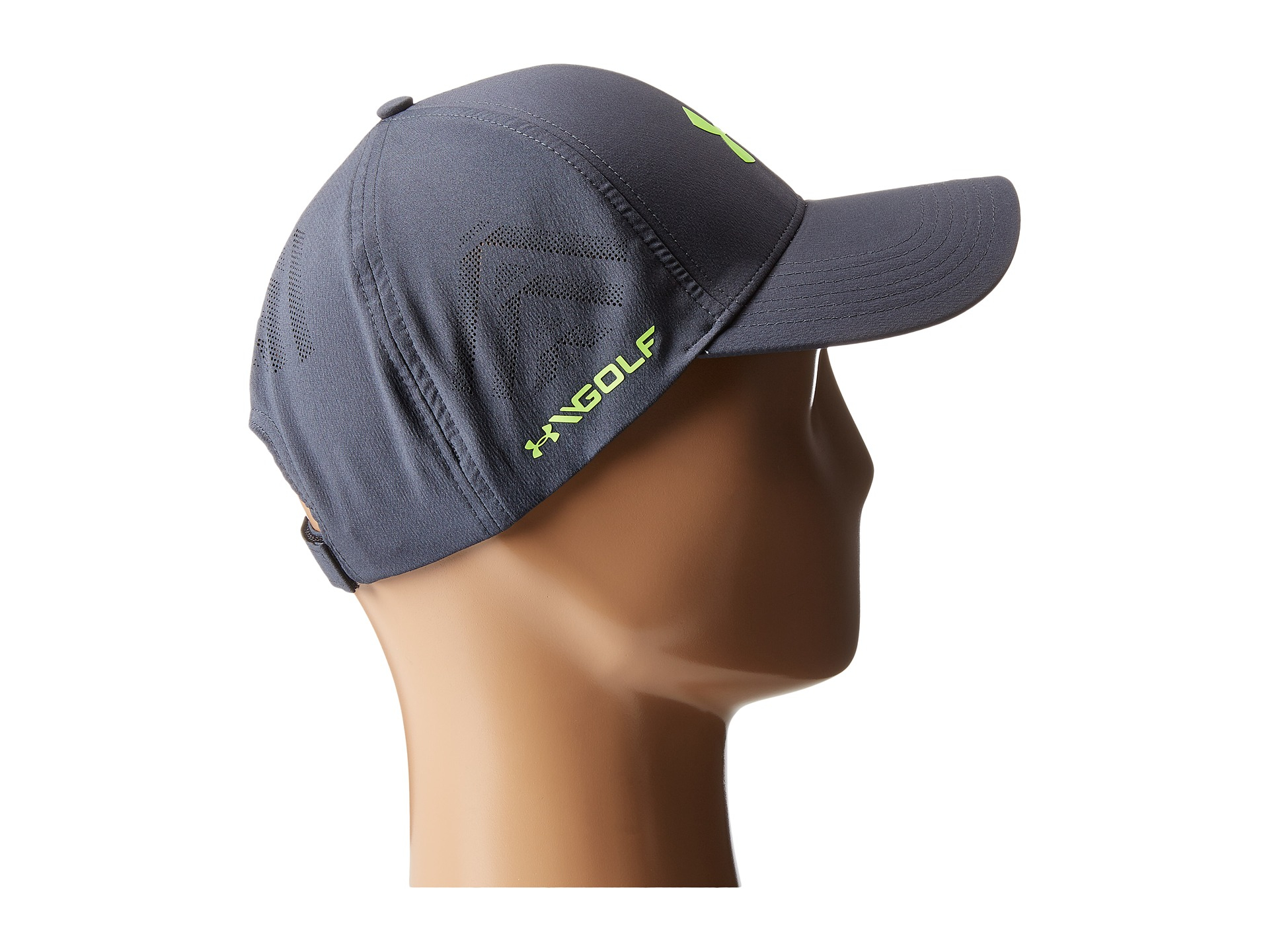 62368769958 Lyst - Under Armour Ua Driver Adjustable Golf Cap in Gray for Men