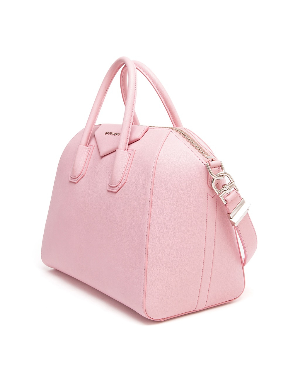 Lyst - Givenchy Antigona Grained Leather Tote Bag in Pink ad08fd2393b46