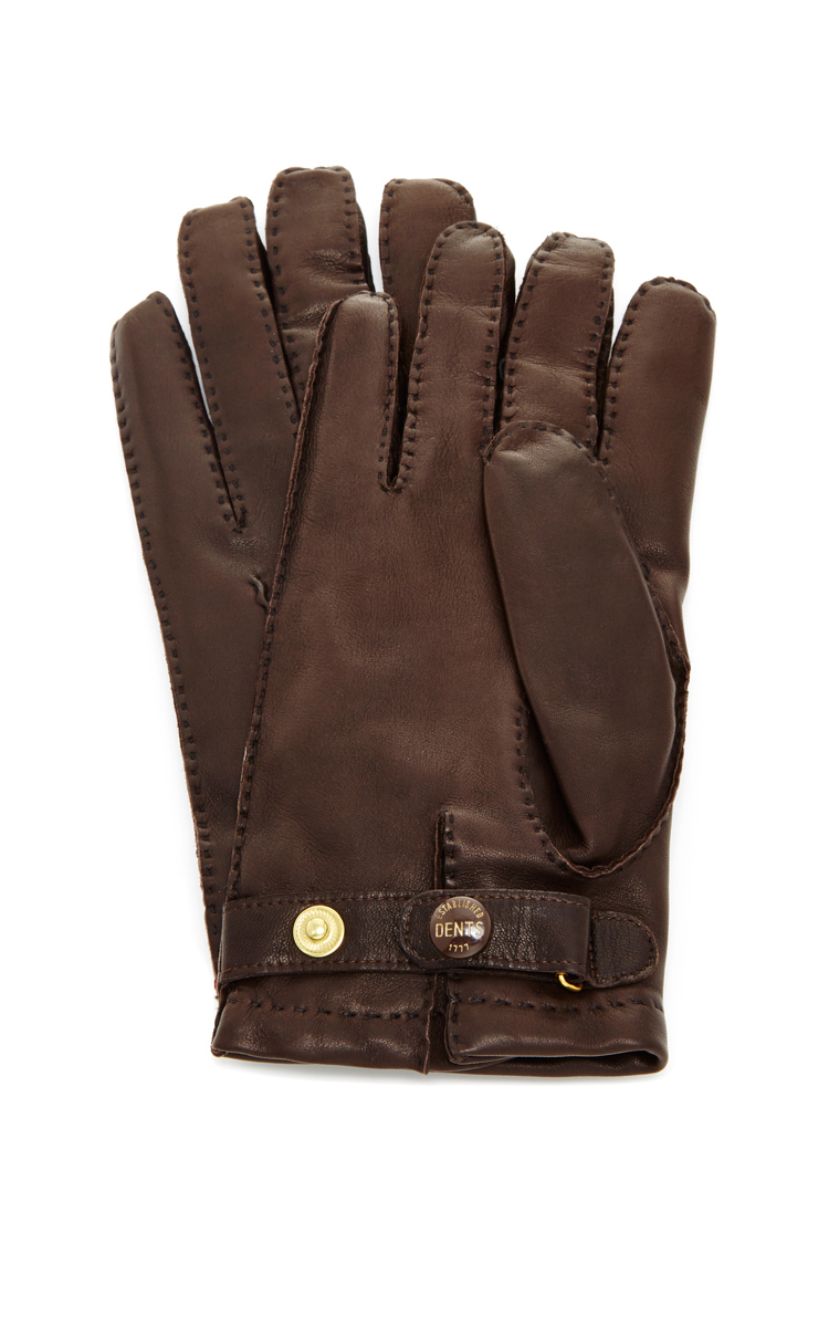 Mens leather gloves dents - Gallery