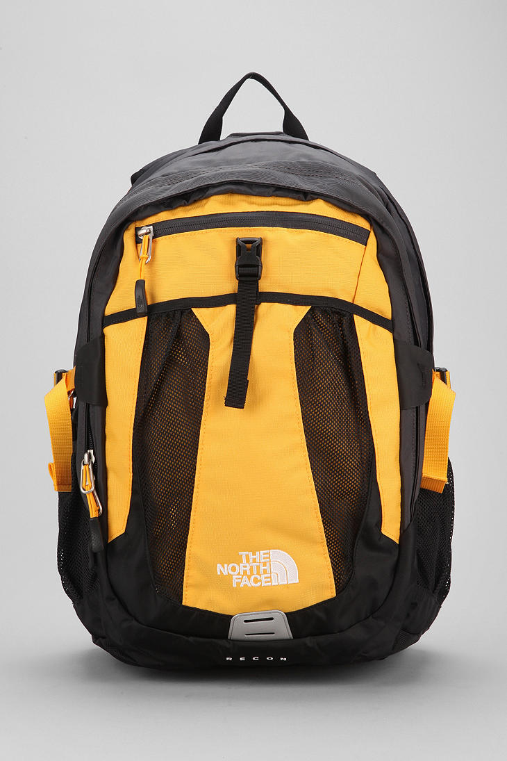 The North Face Recon Backpack In Yellow For Men Lyst