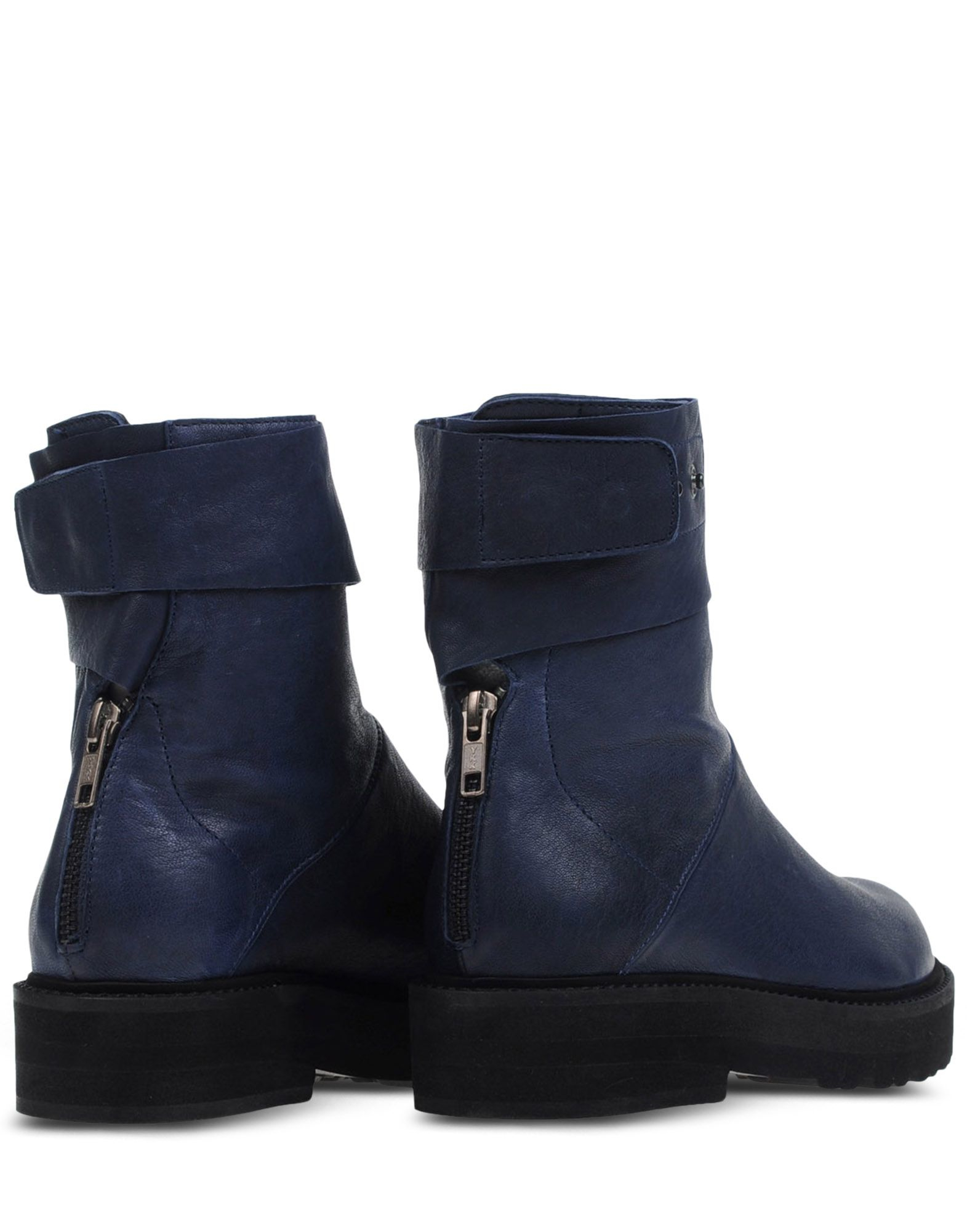 ld tuttle leather ankle boots in blue blue lyst