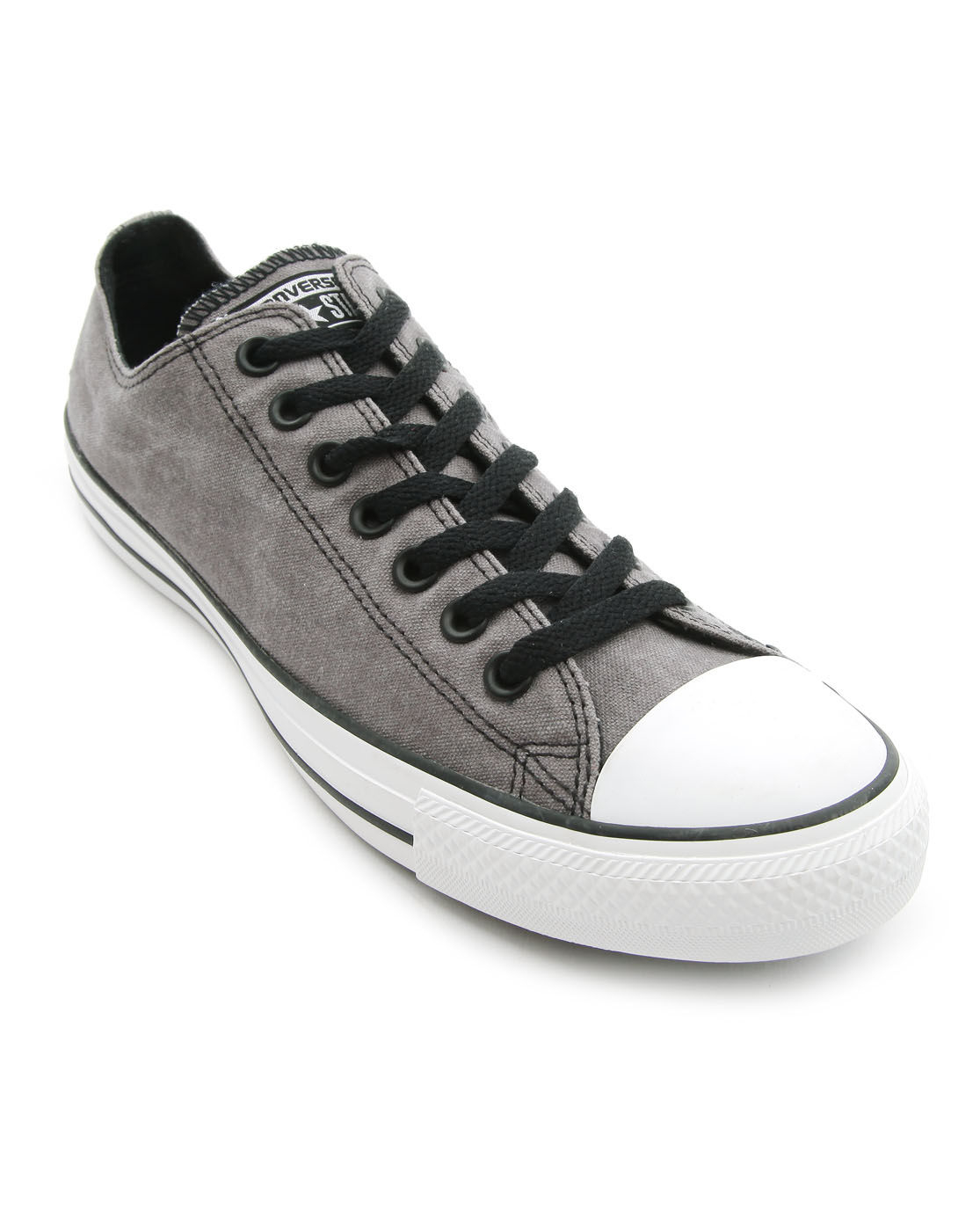 Converse All Star Low Vintage Dark Grey Sneakers in Gray . 603d0a0e6