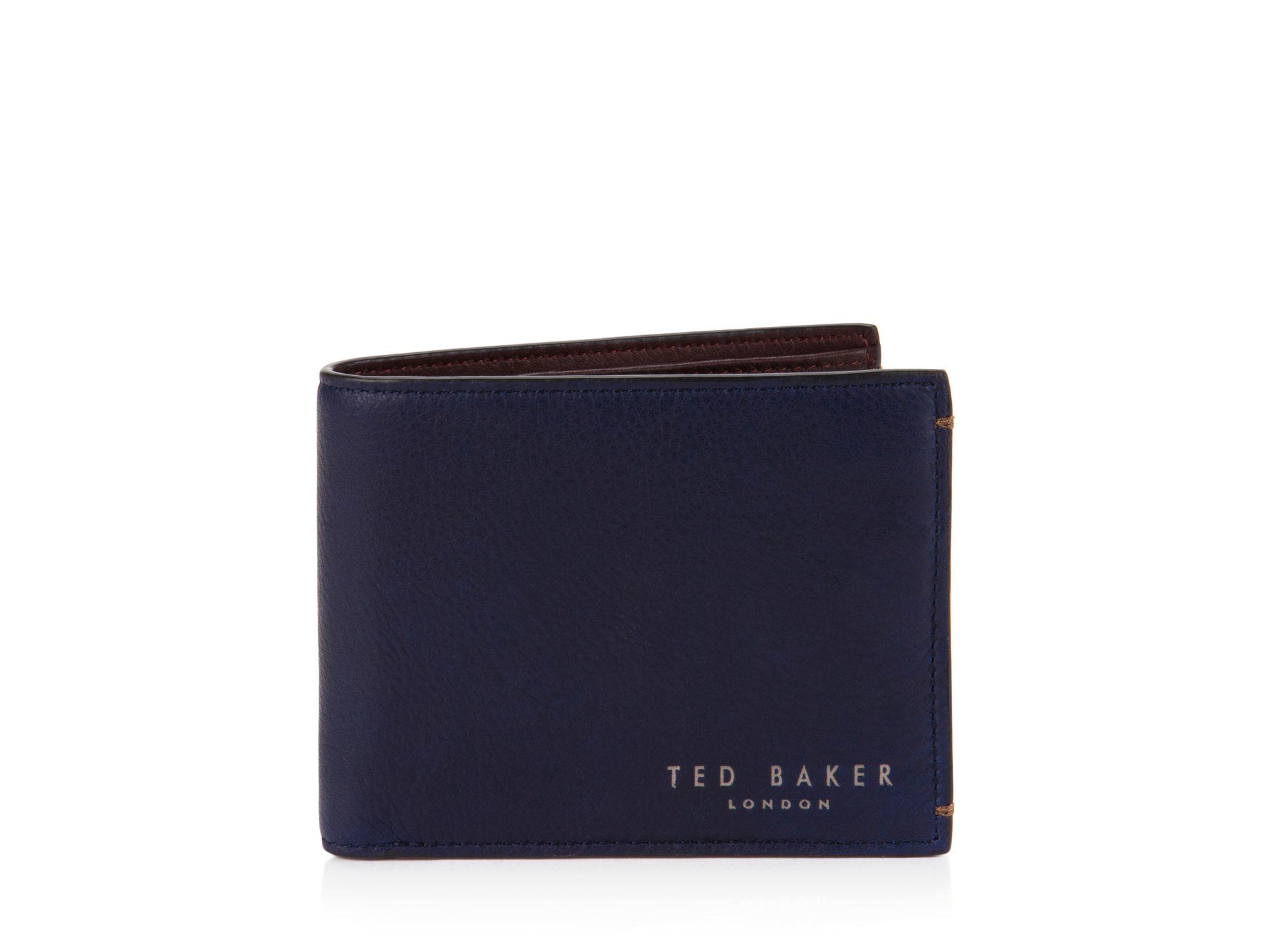 0719d9f59490d Ted Baker Wallet Men Best Photo Justiceforkenny. Bi Fold Leather Wallet