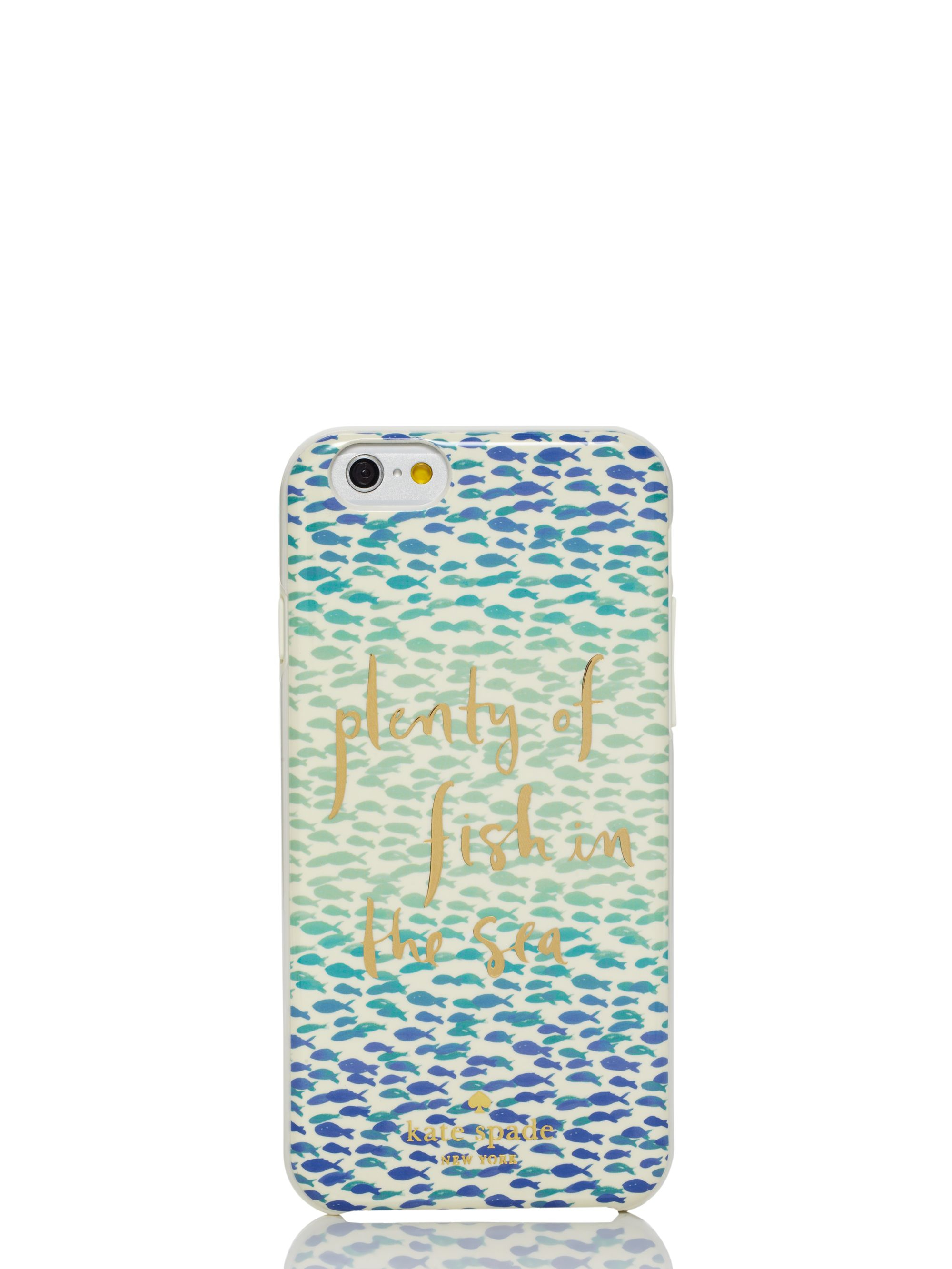 Lyst kate spade new york resin iphone 6 plenty of fish for Contact plenty of fish