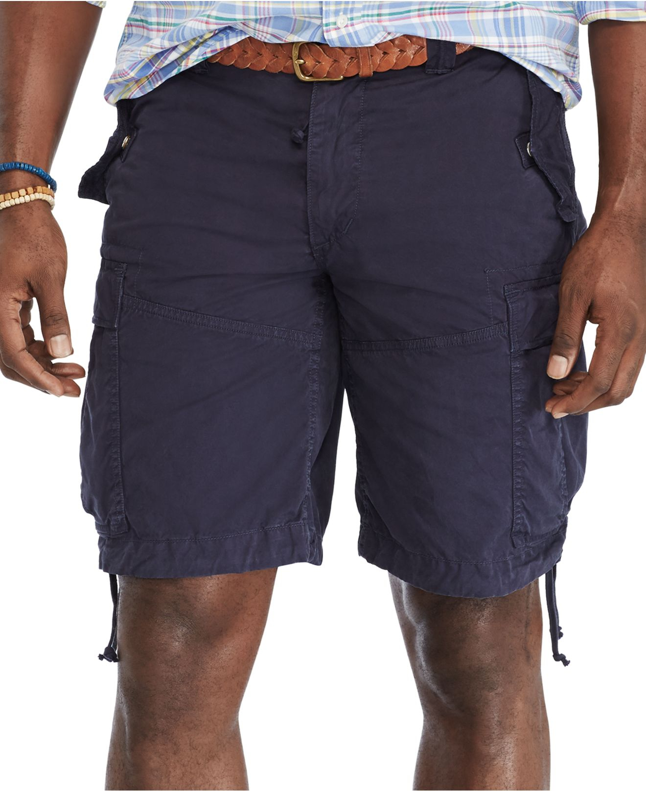 polo ralph lauren cargo shorts big and tall dr e horn. Black Bedroom Furniture Sets. Home Design Ideas