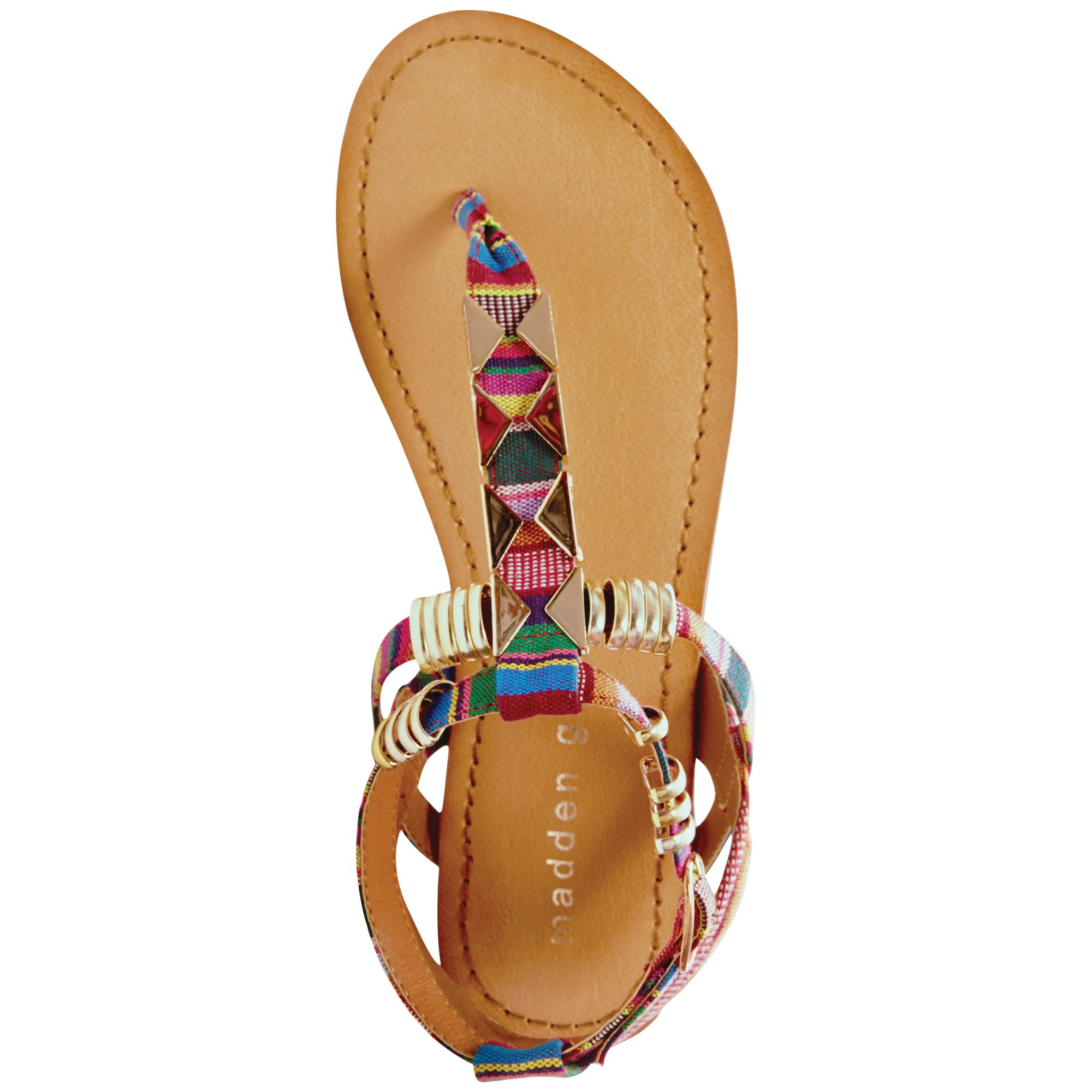 30a8c1f2be3 Lyst - Madden Girl Faaye Thong Sandals