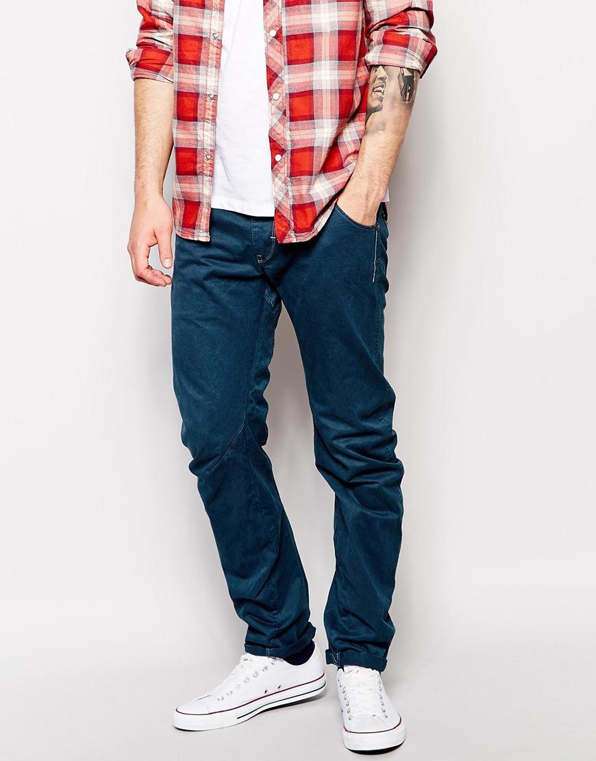 g star raw g star jeans arc 3d slim fit color denim in. Black Bedroom Furniture Sets. Home Design Ideas