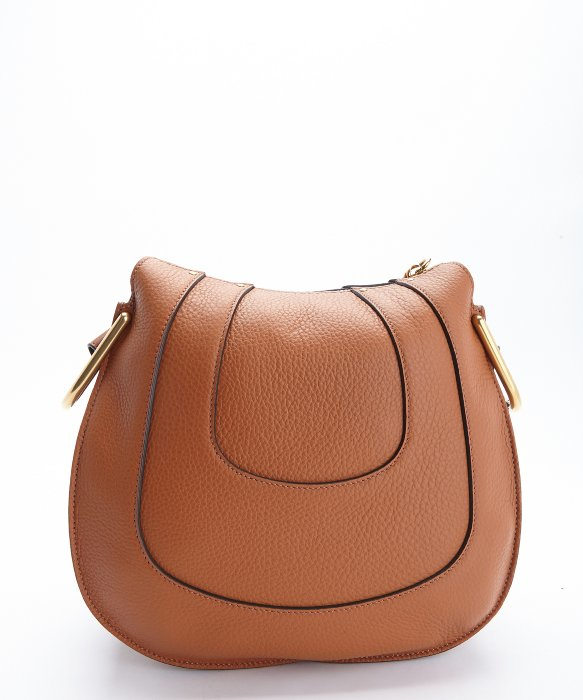 chloe paraty replica - hayley hobo in perforated smooth calfskin