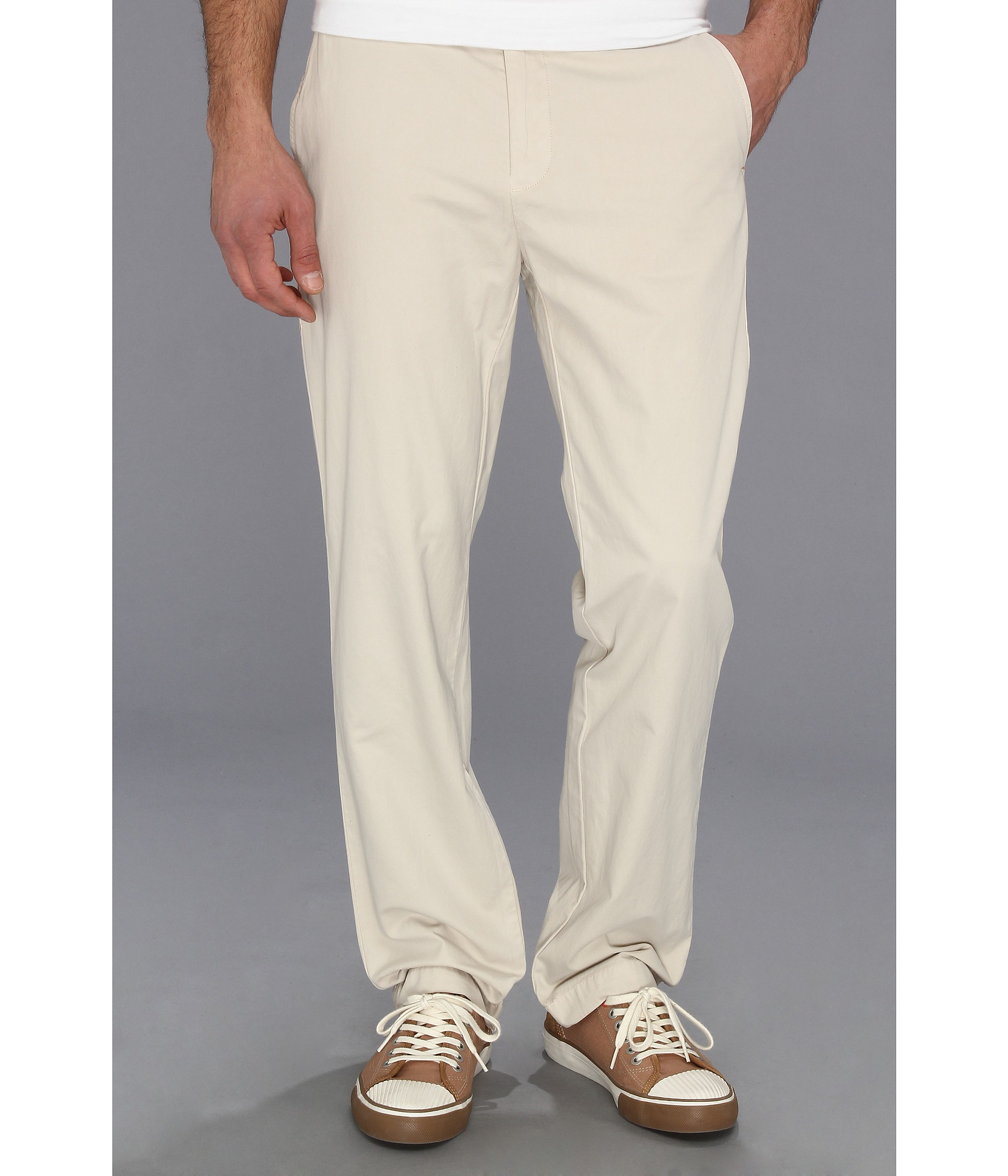 7685eda7 Tommy Bahama Del Chino Authentic Fit Pants in Natural for Men - Lyst