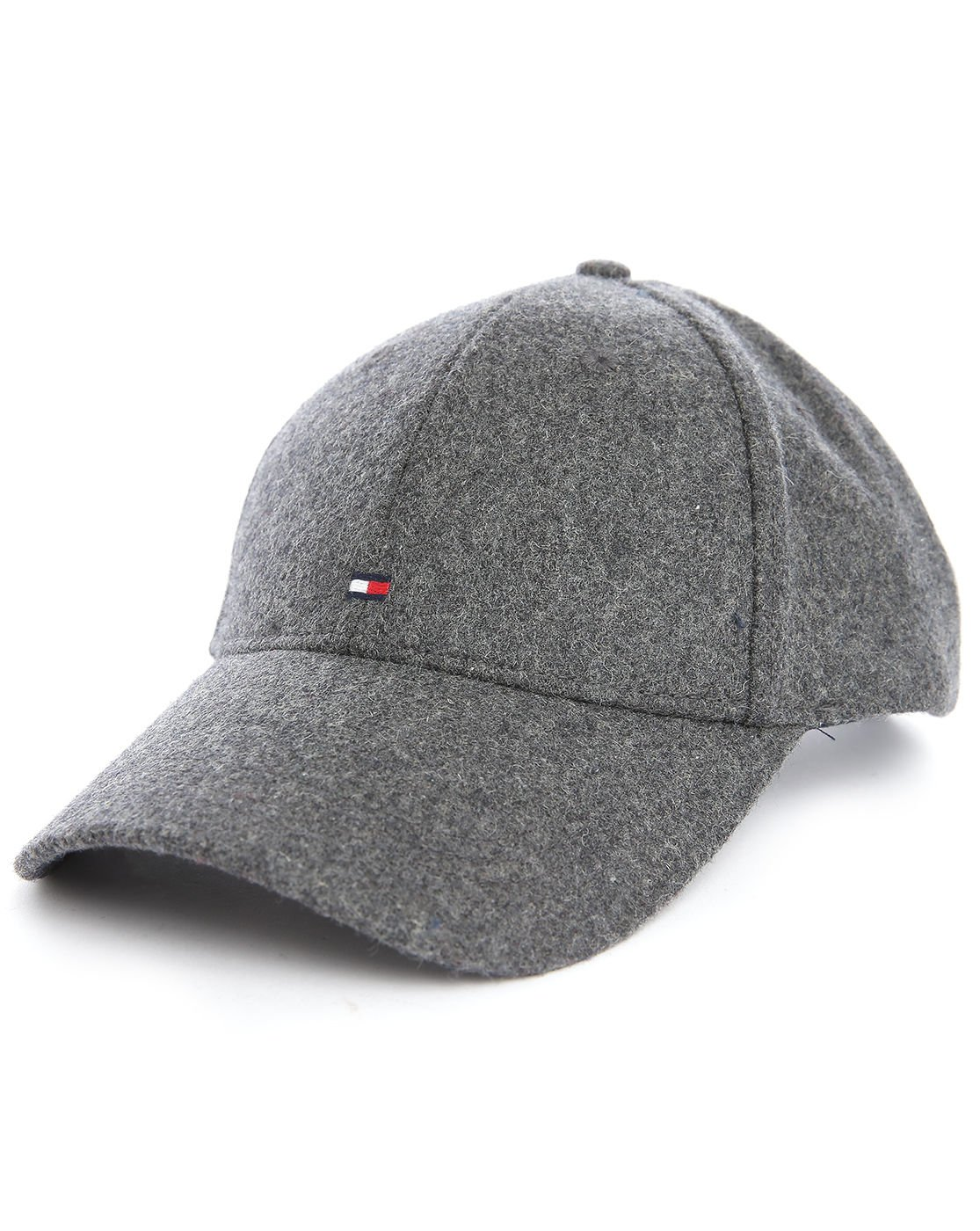 tommy hilfiger grey flag wool cap in gray for men lyst. Black Bedroom Furniture Sets. Home Design Ideas